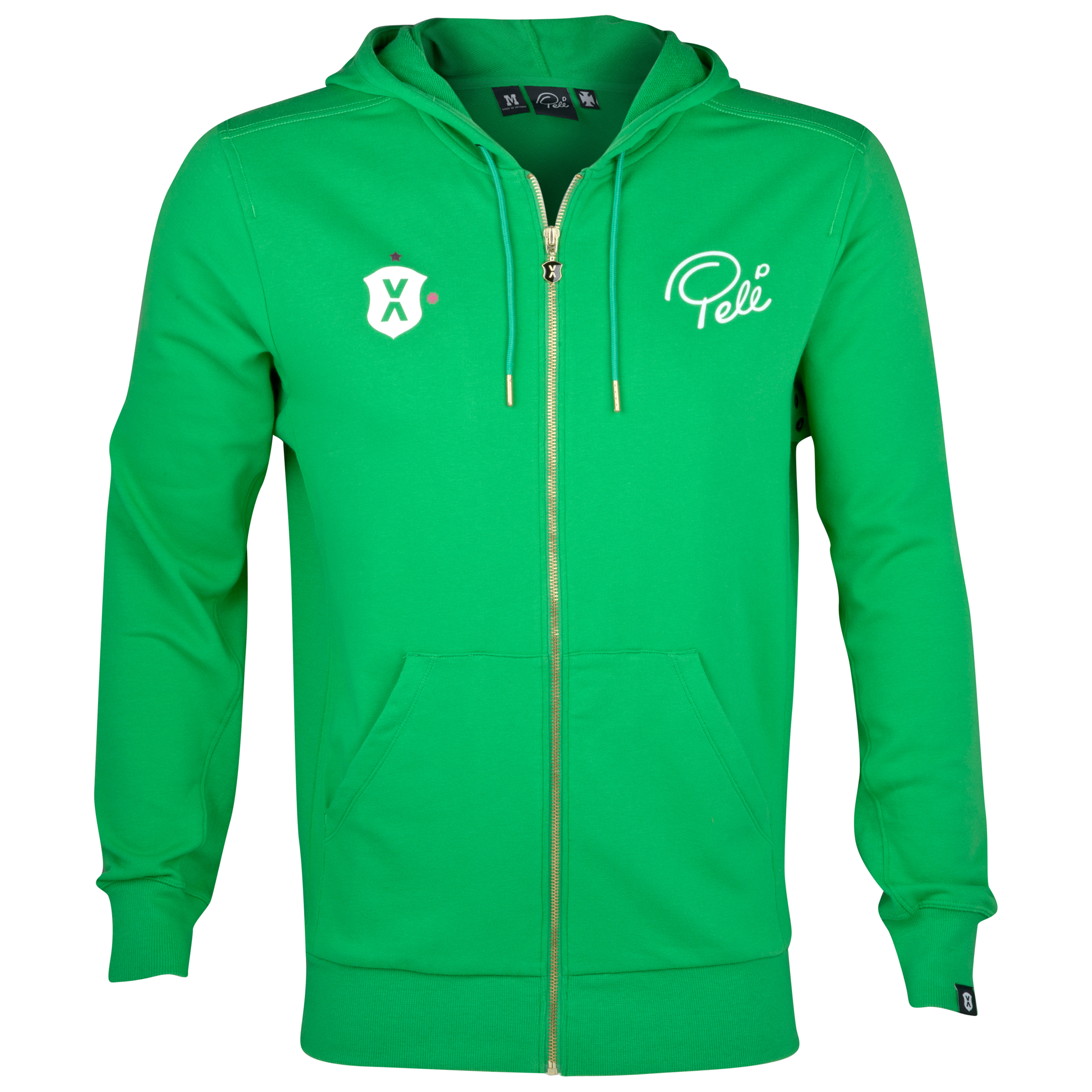 Pele Sports Zip Hoody - Classic Green