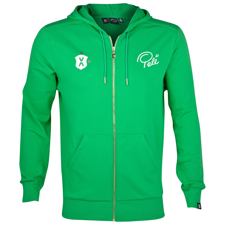 Pele Sports Zip Hoody - Classic Green