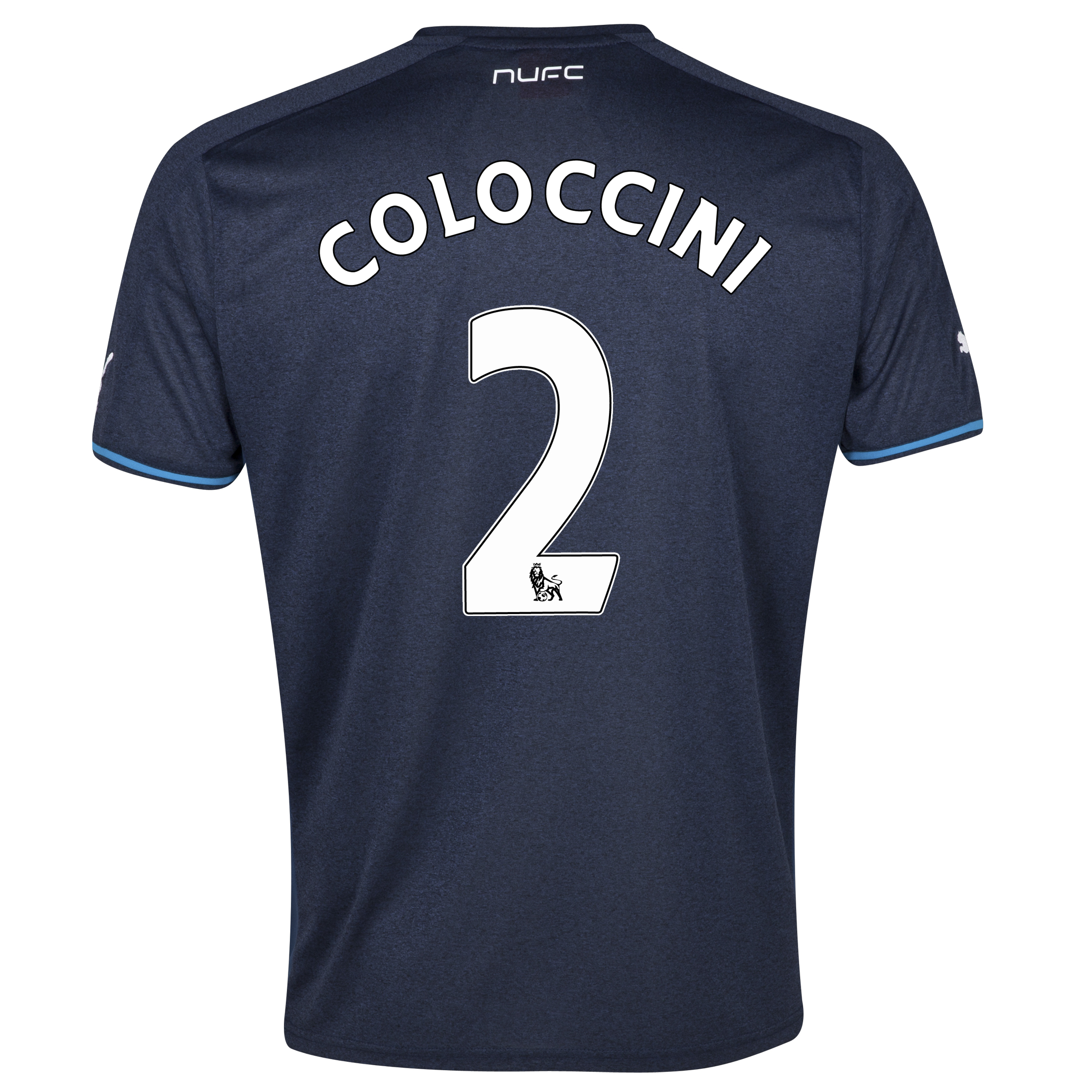 Newcastle United Away Shirt 2013/14 with Coloccini 2 printing