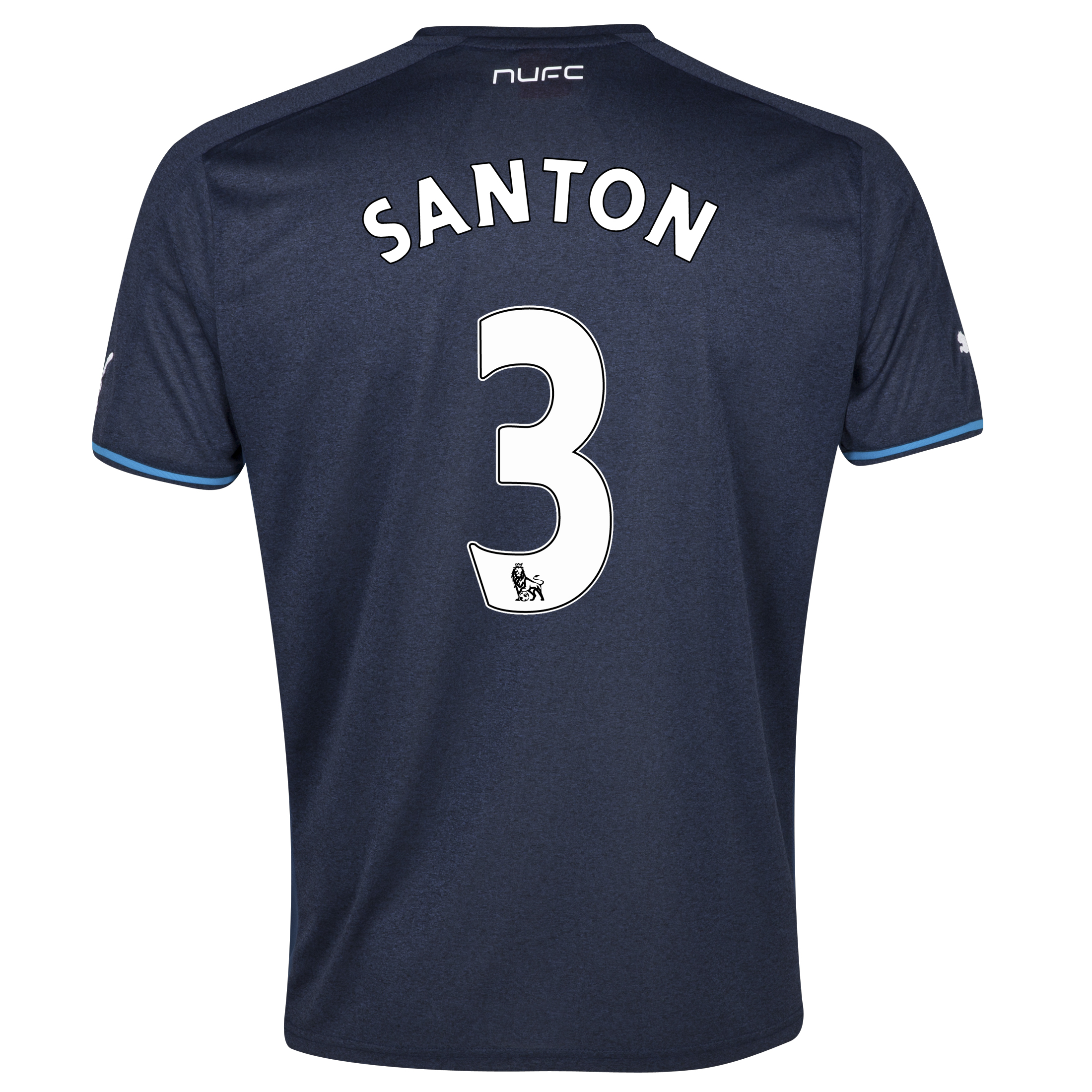 Newcastle United Away Shirt 2013/14 with Santon 3 printing