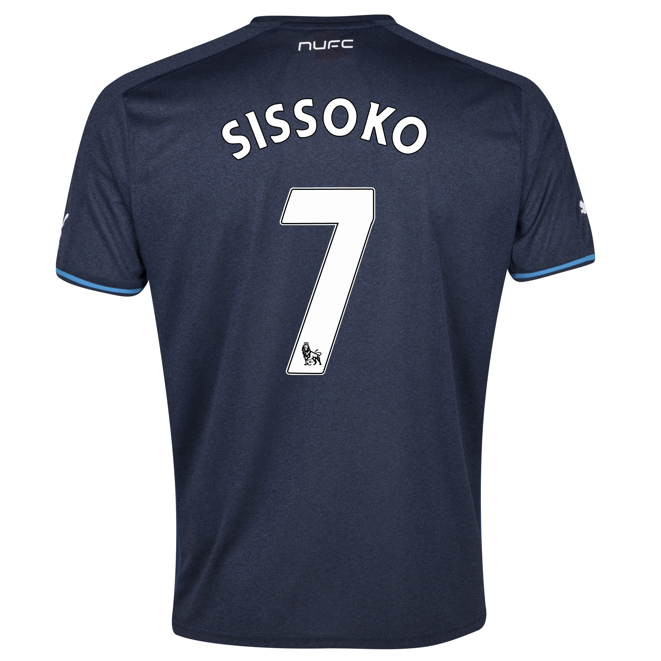 Newcastle United Away Shirt 2013/14 with Sissoko 7 printing