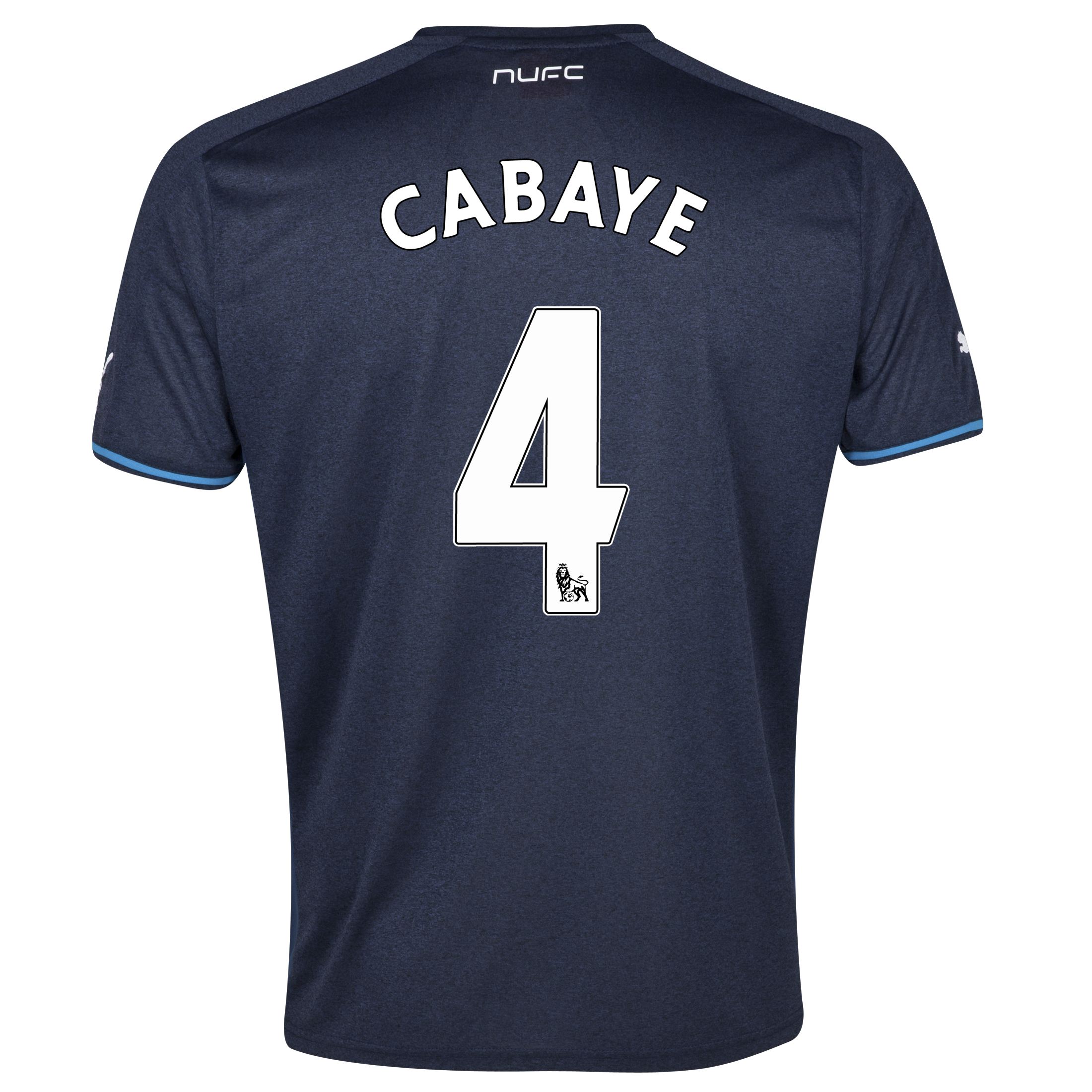 Newcastle United Away Shirt 2013/14 - kids with Cabaye 4 printing