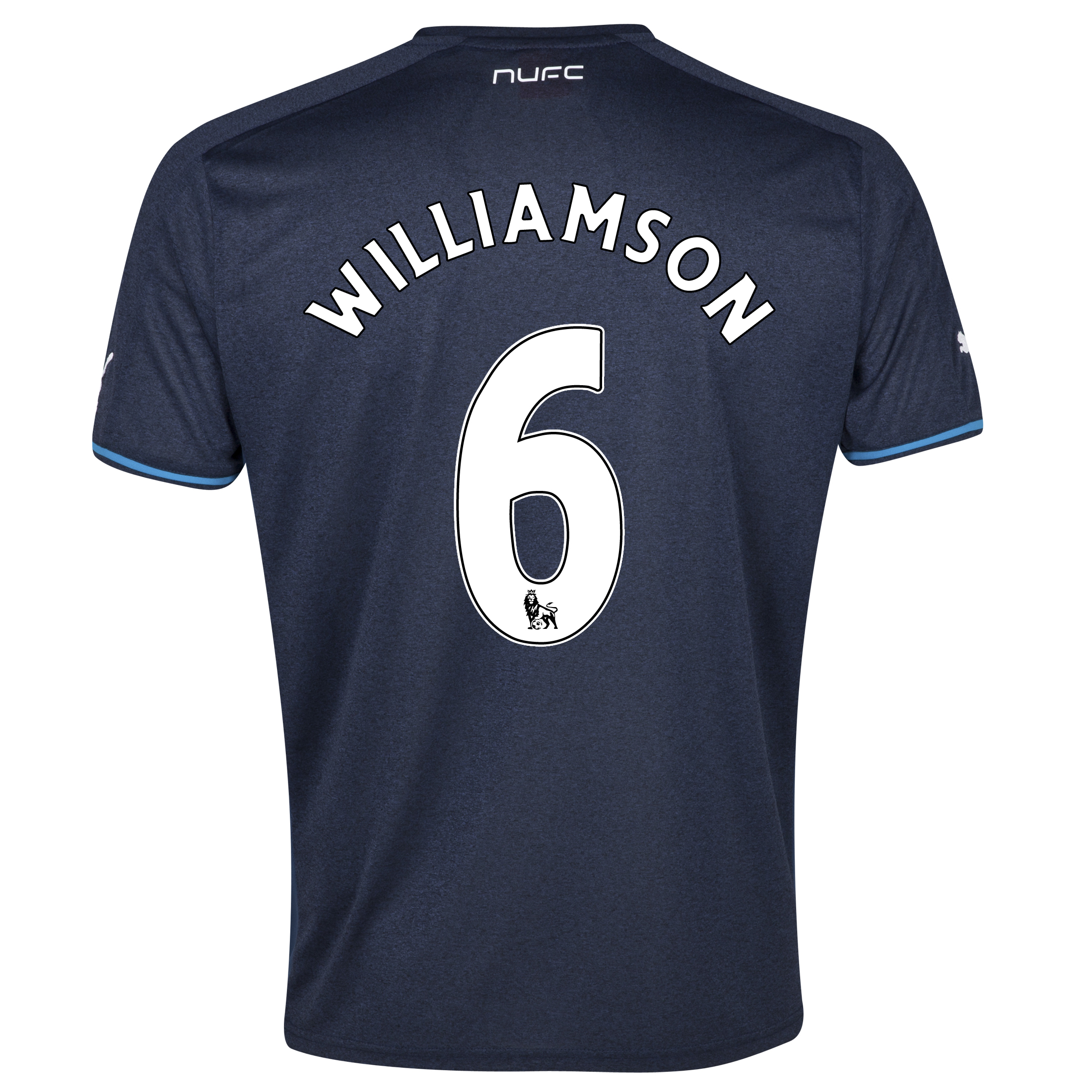 Newcastle United Away Shirt 2013/14 - kids with Williamson 6 printing