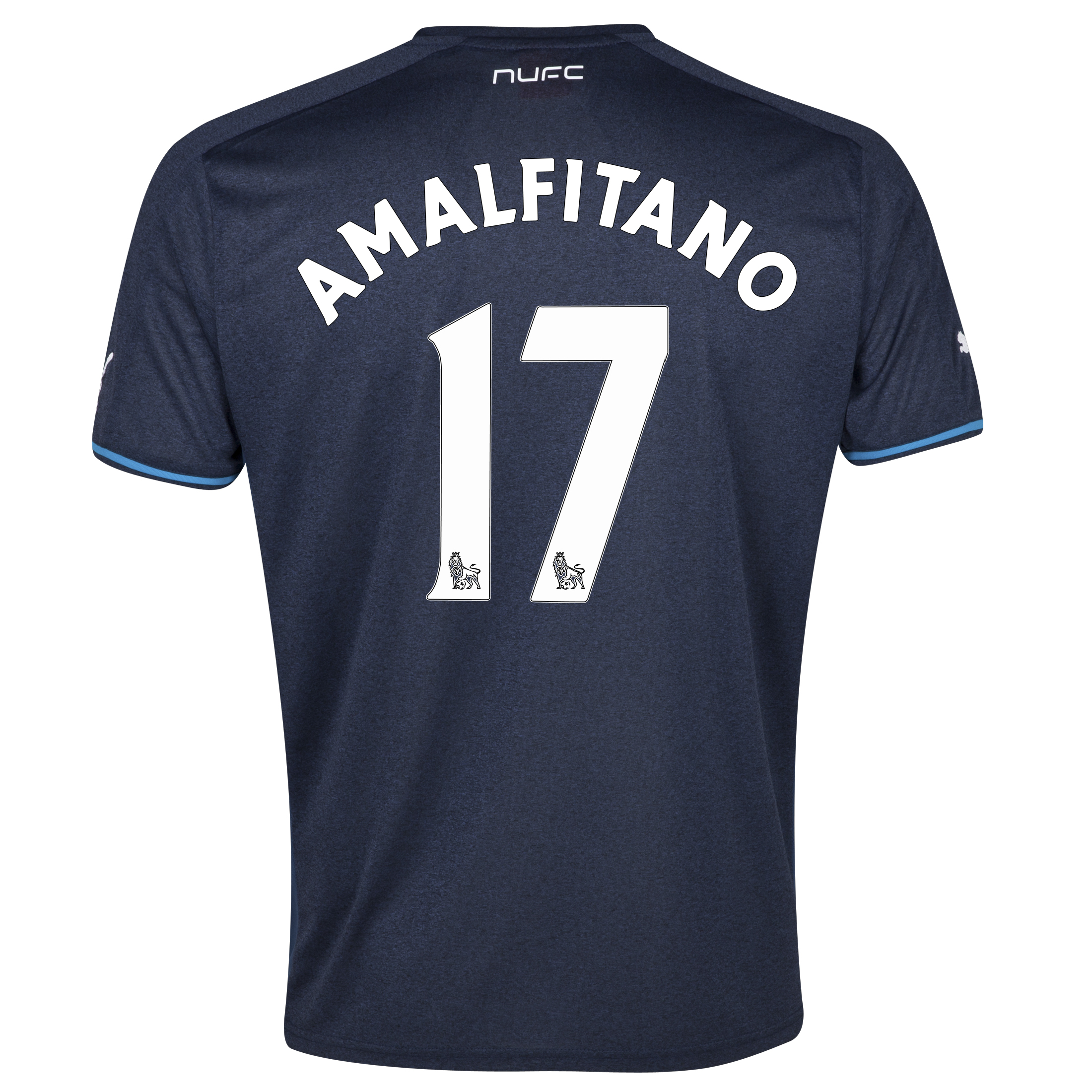 Newcastle United Away Shirt 2013/14 - kids with Amalfitano 17 printing