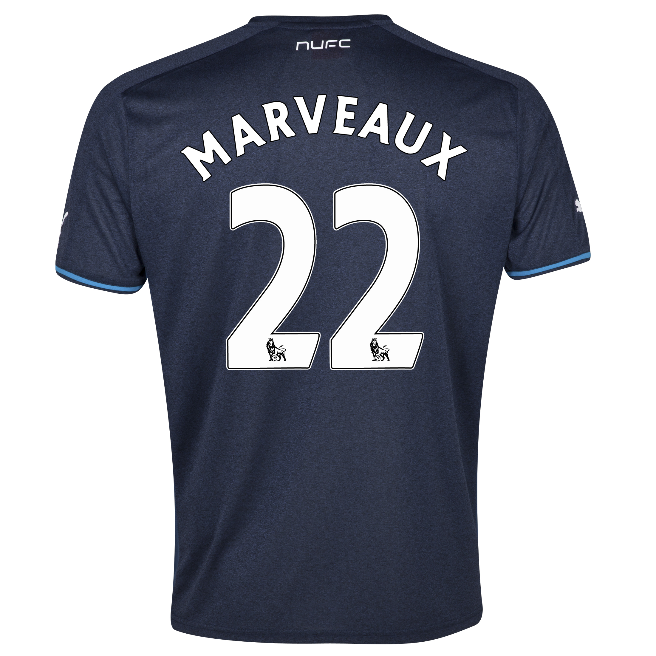 Newcastle United Away Shirt 2013/14 - kids with Marveaux 22 printing