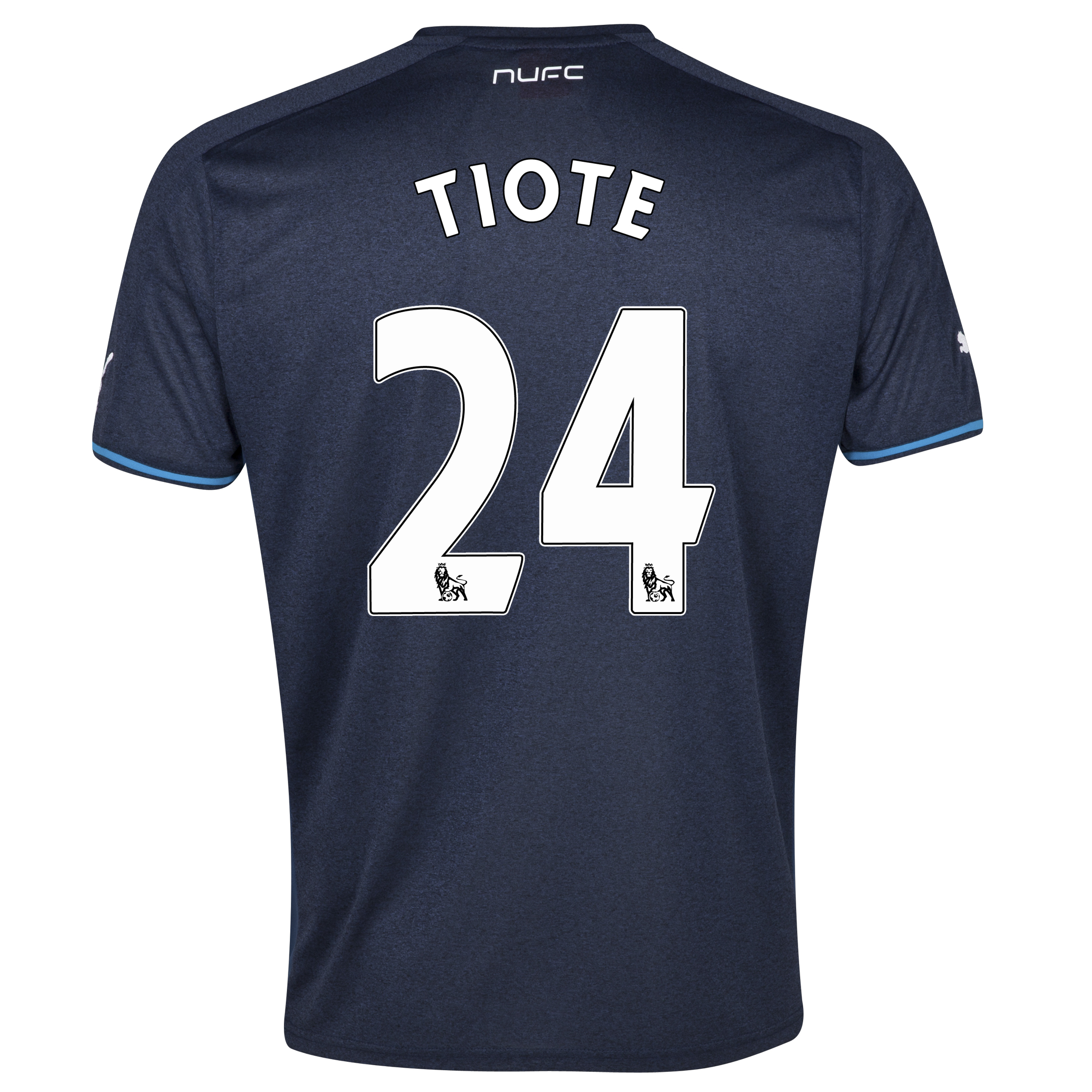 Newcastle United Away Shirt 2013/14 - kids with Tiote 24 printing