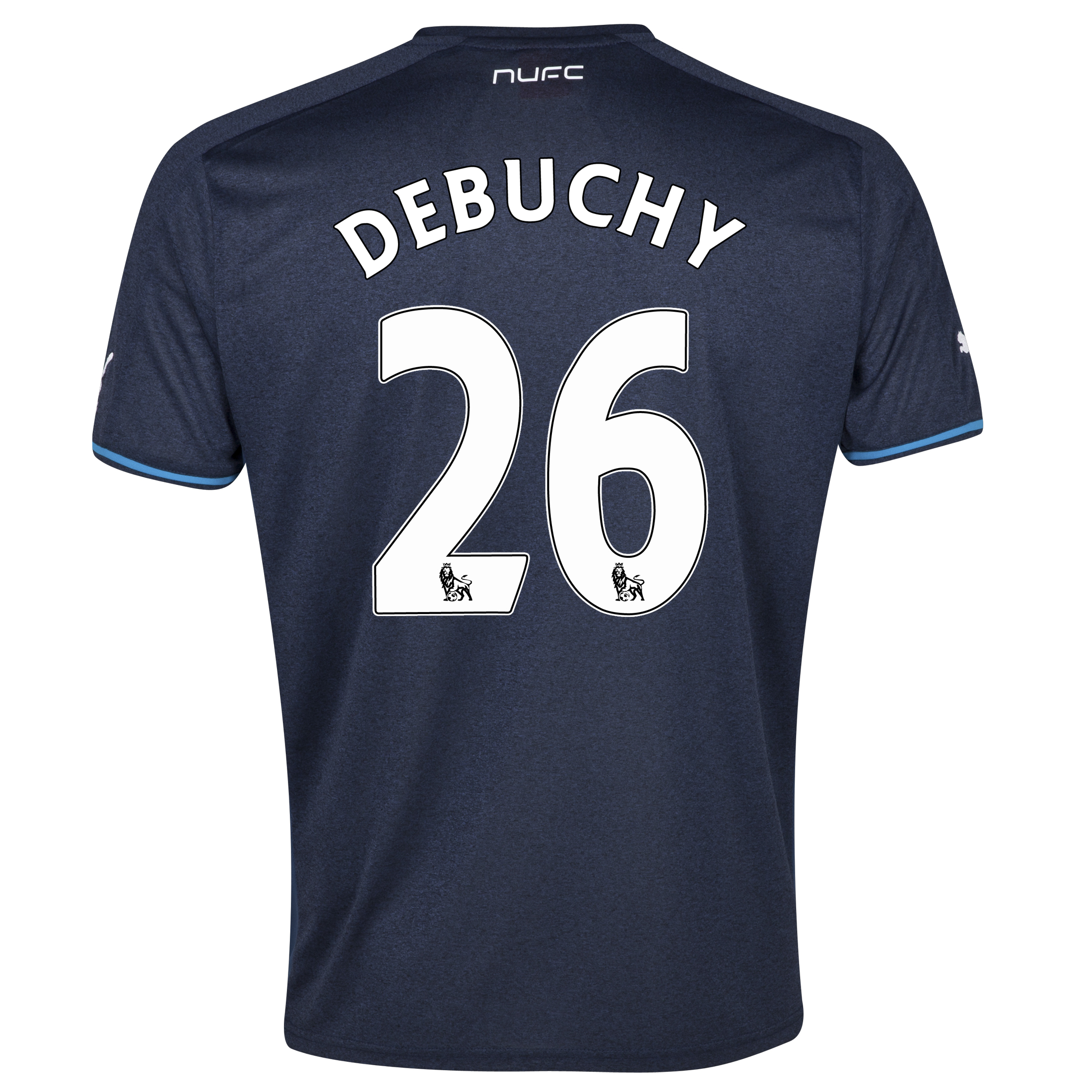 Newcastle United Away Shirt 2013/14 - kids with Debuchy 26 printing