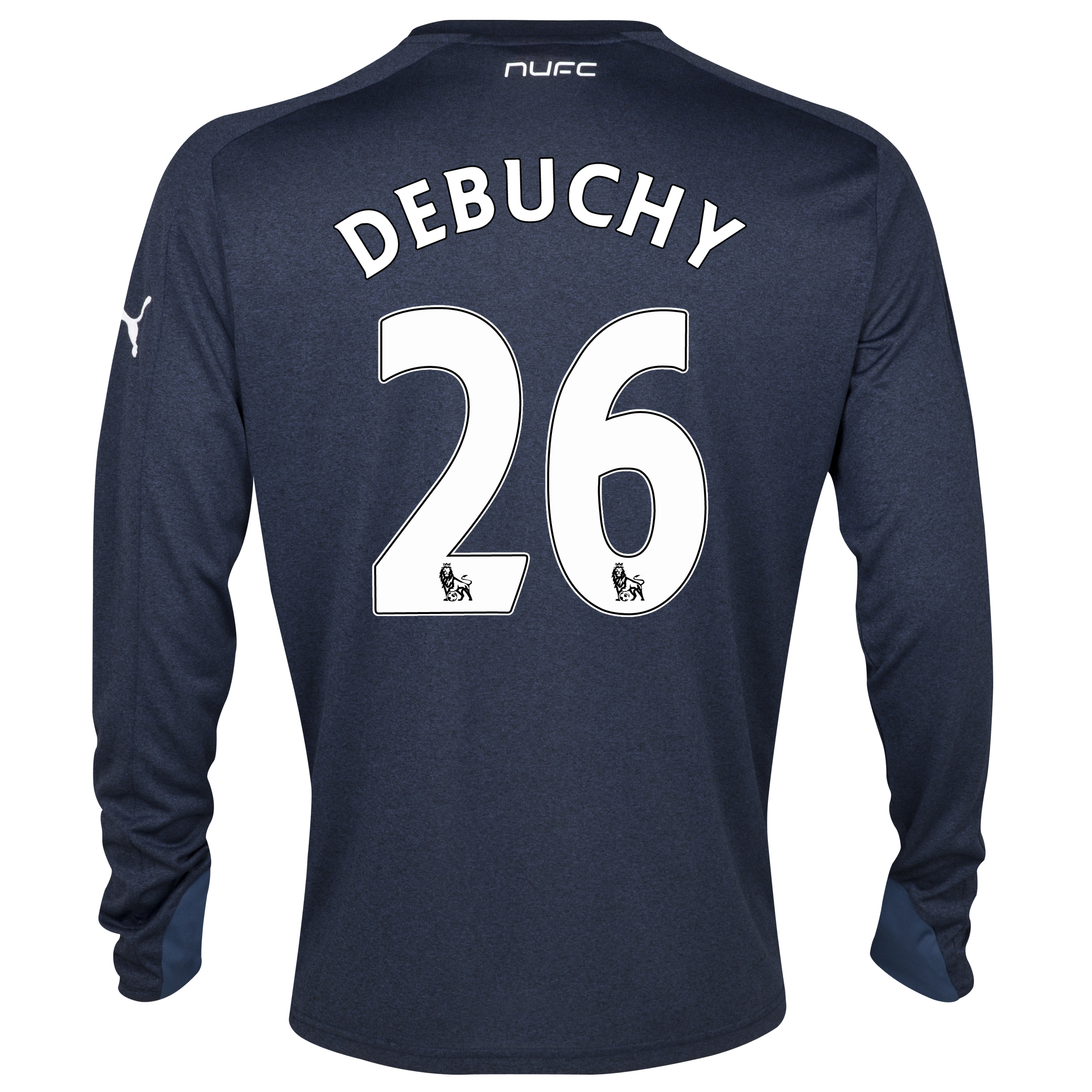 Newcastle United Away Shirt 2013/14- Long Sleeve with Debuchy 26 printing