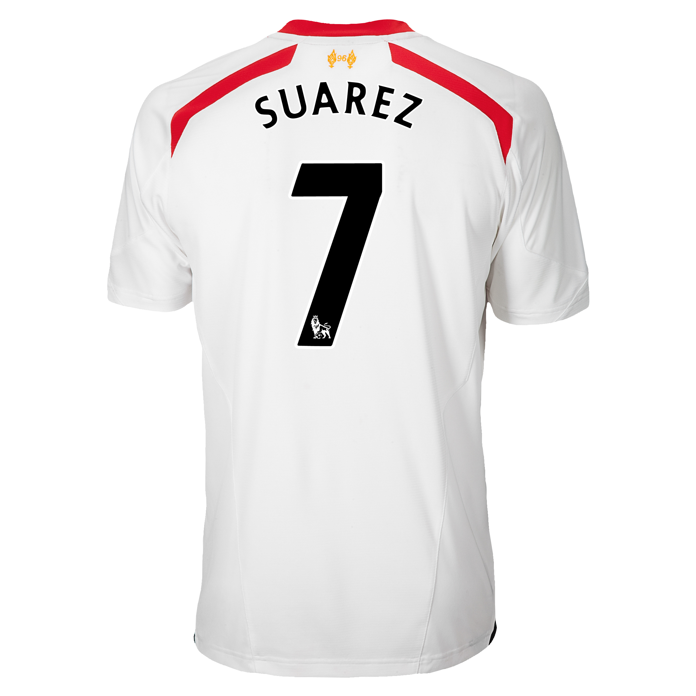 Liverpool Away Shirt 2013/14 with Suarez 7 printing