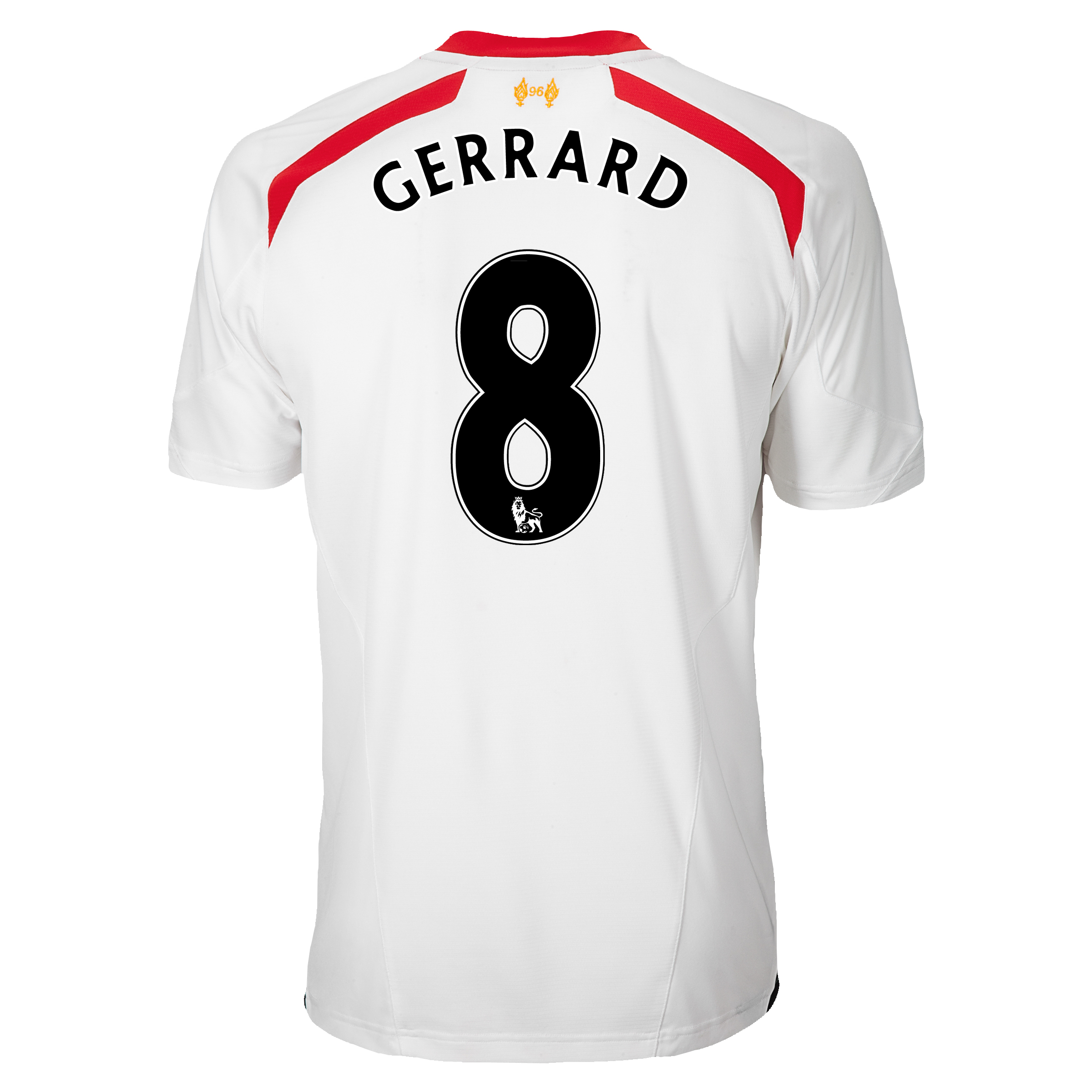 Liverpool Away Shirt 2013/14 with Gerrard 8 printing