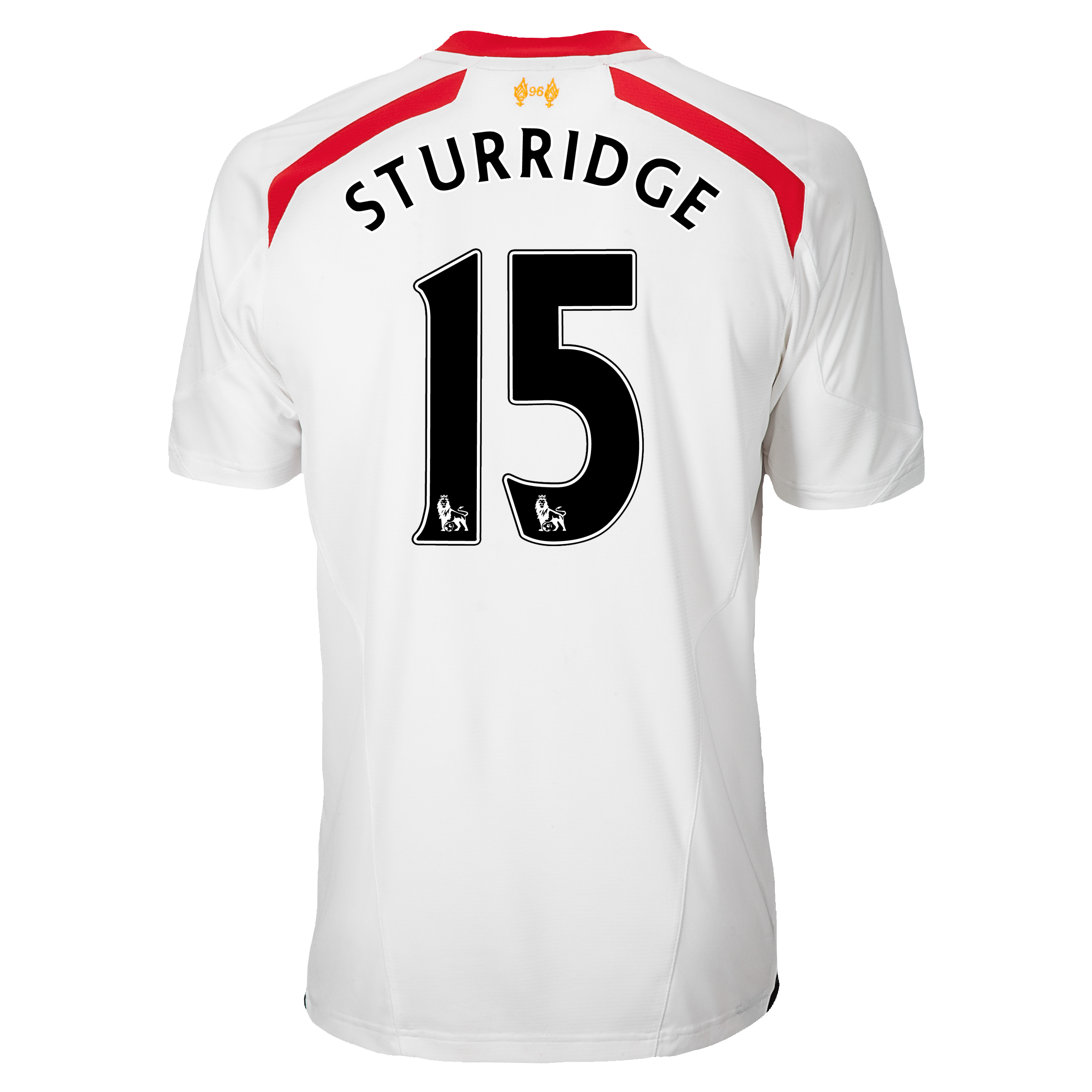Liverpool Away Shirt 2013/14 with Sturridge 15 printing