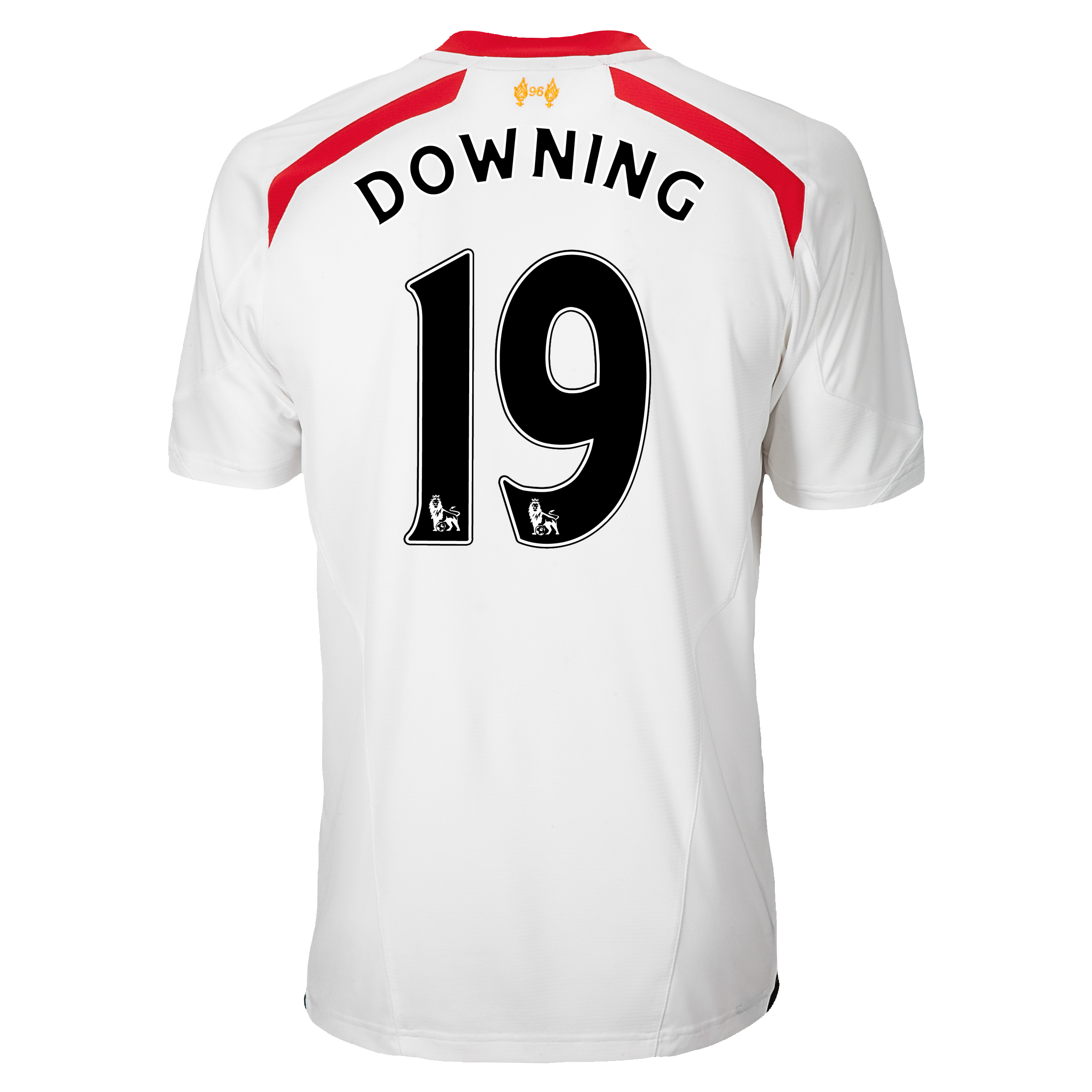 Liverpool Away Shirt 2013/14 with Downing 19 printing
