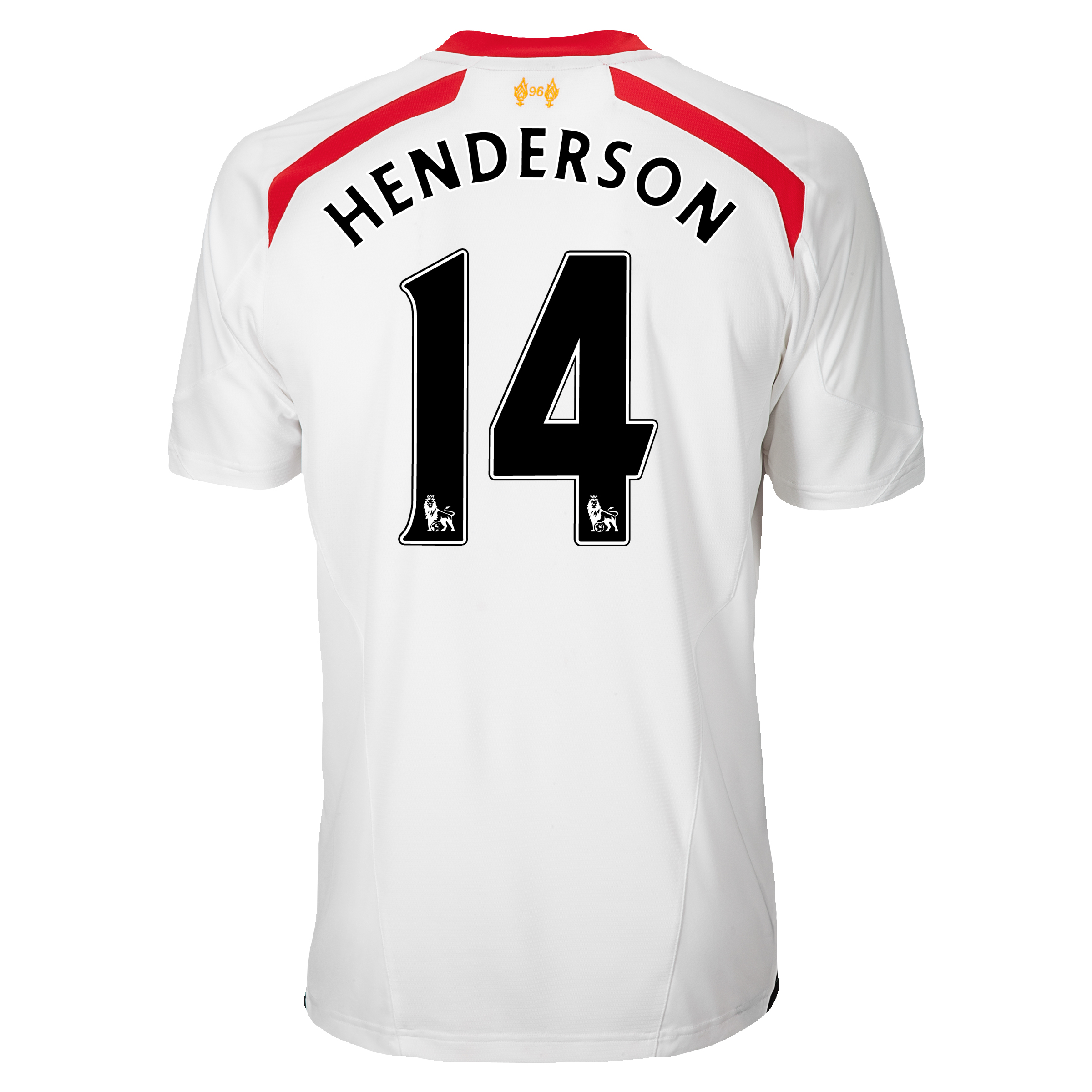 Liverpool Away Shirt 2013/14 - kids with Henderson 14 printing