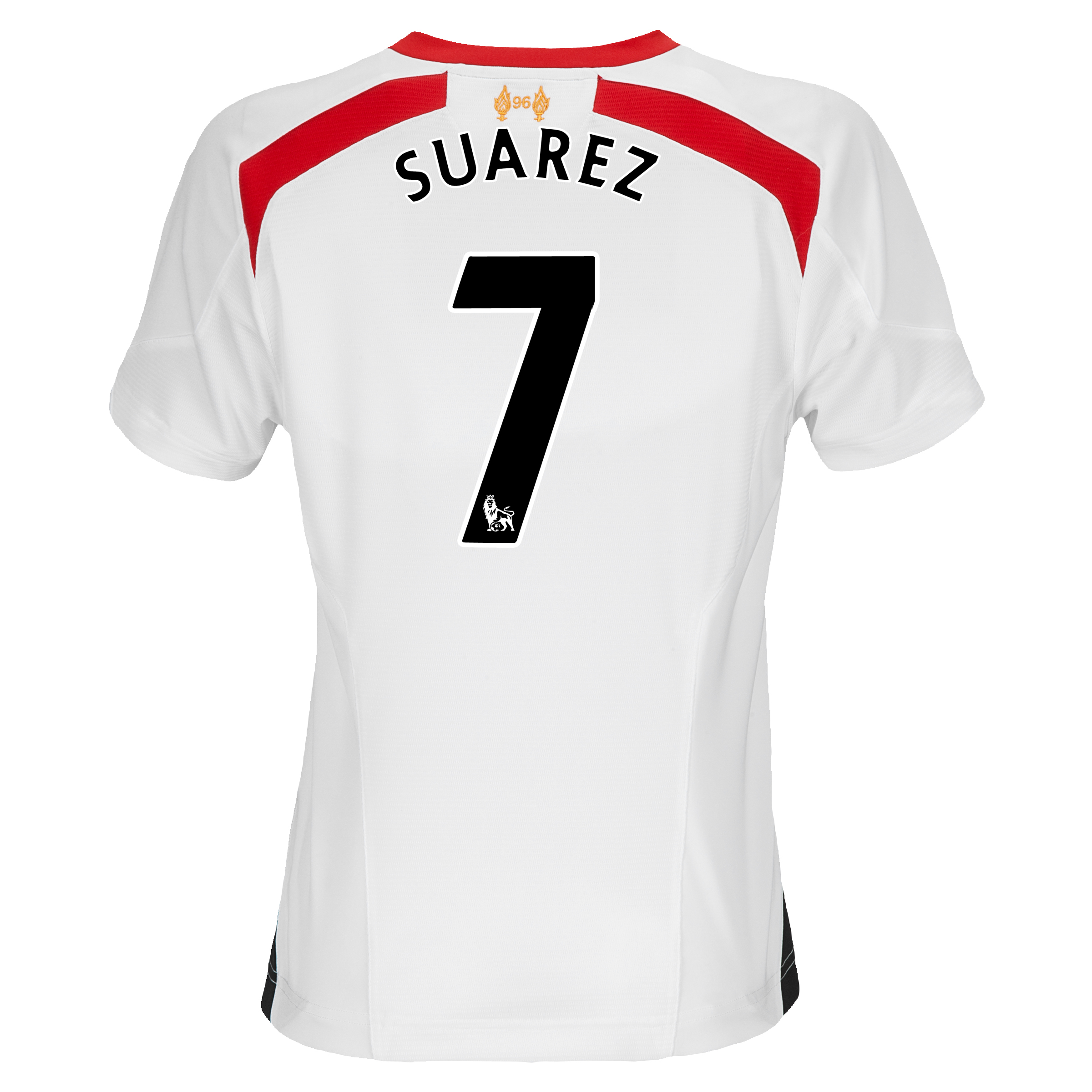 Liverpool Away Shirt 2013/14 - Womens with Suarez 7 printing
