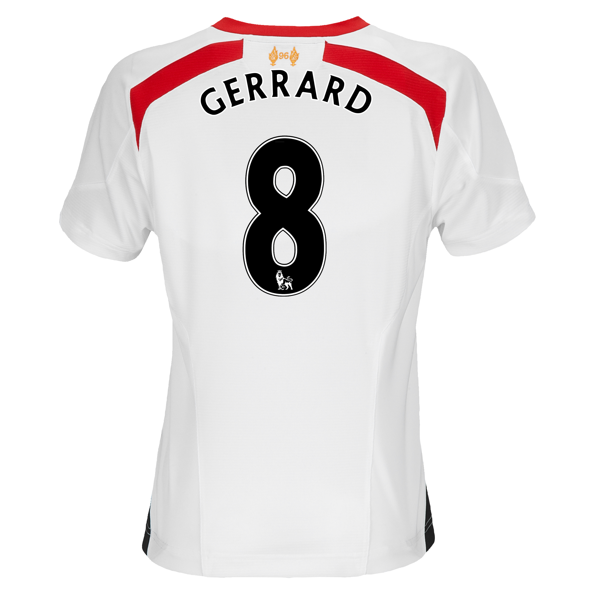 Liverpool Away Shirt 2013/14 - Womens with Gerrard 8 printing