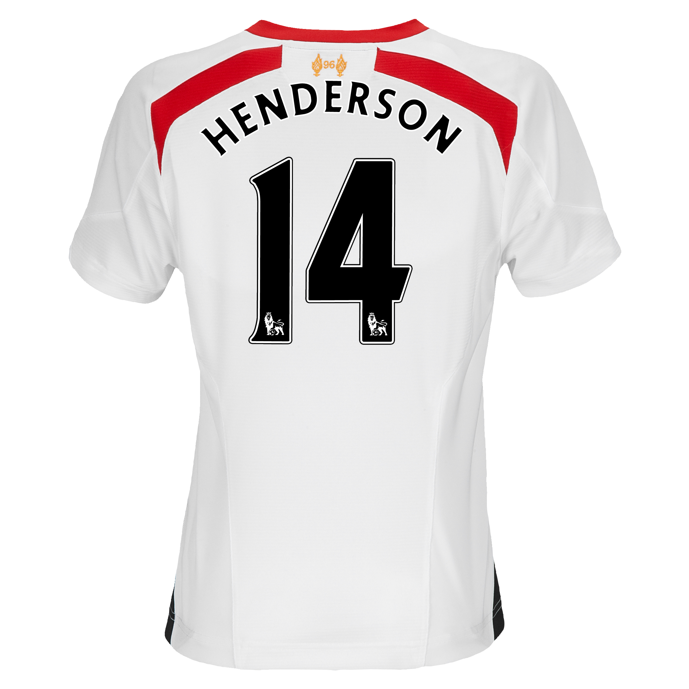 Liverpool Away Shirt 2013/14 - Womens with Henderson 14 printing