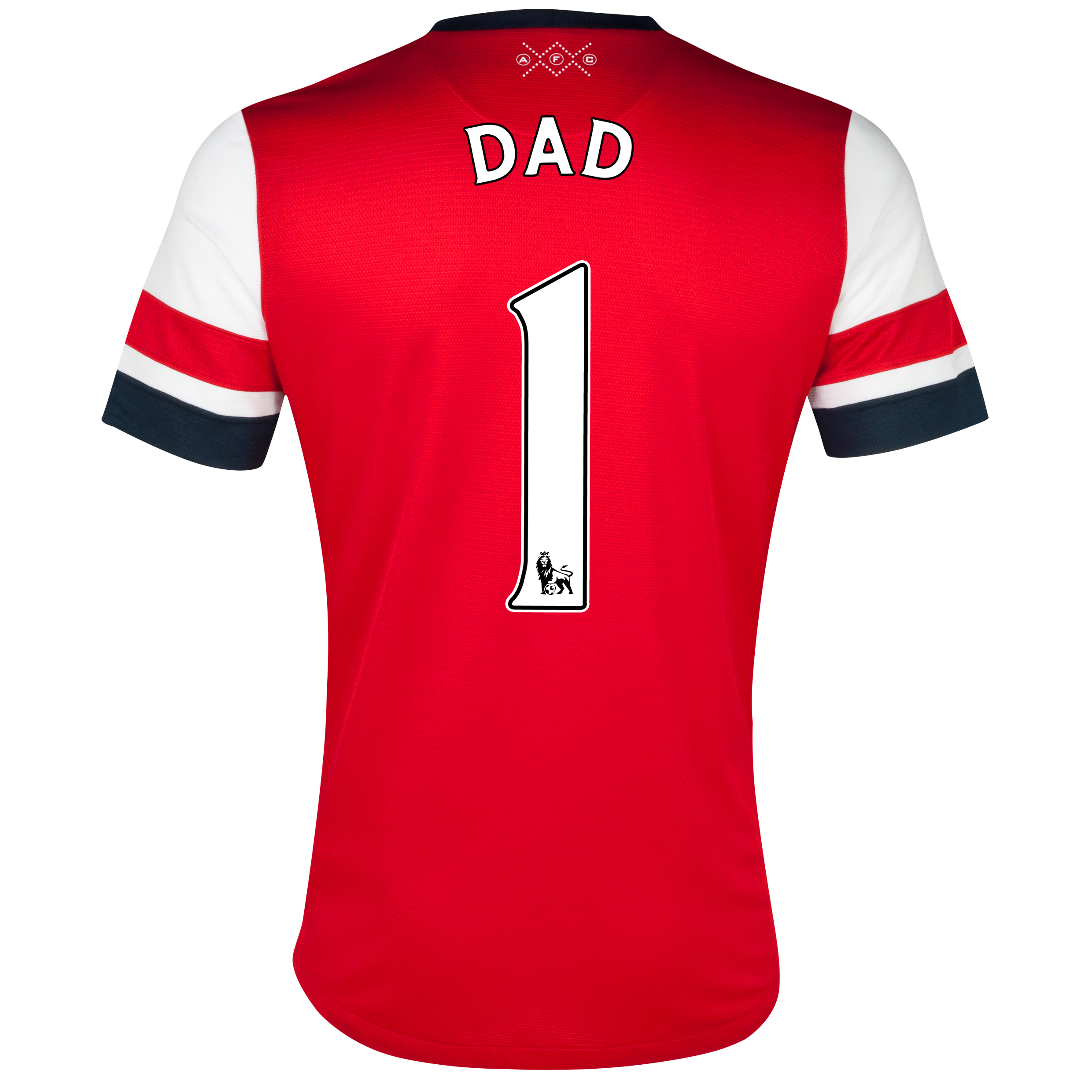 Arsenal Home Shirt 2012/14 with Dad 1 printing