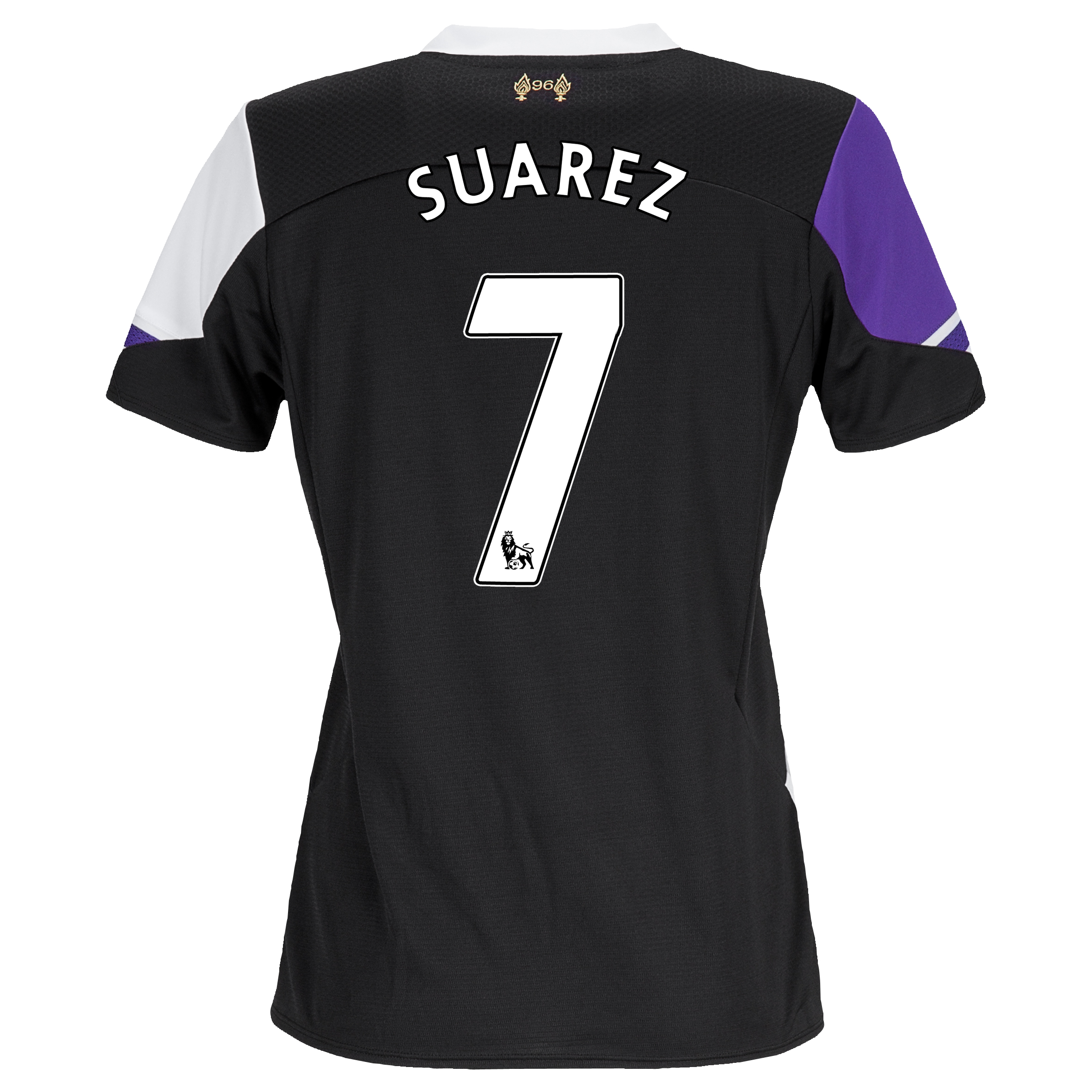 Liverpool Third Shirt 2013/14 - Womens with Suarez 7 printing