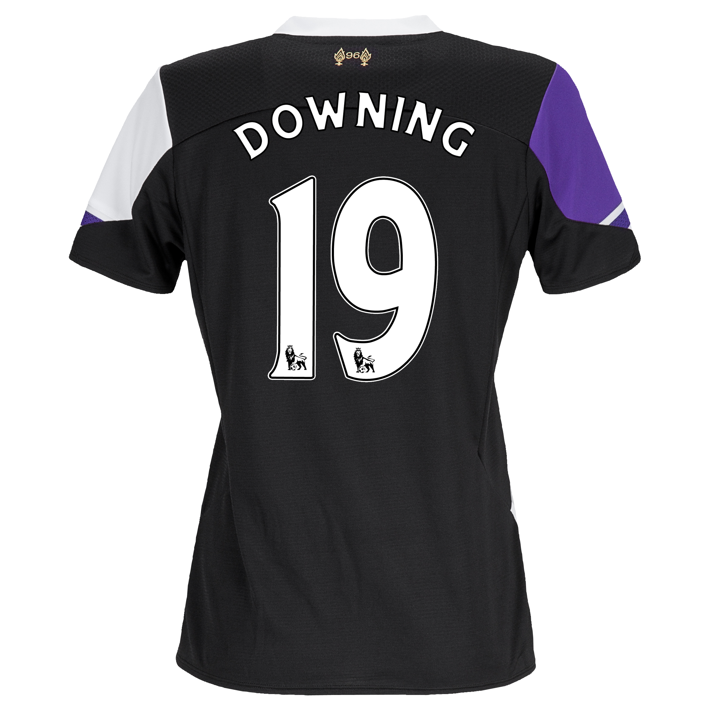 Liverpool Third Shirt 2013/14 - Womens with Downing 19 printing