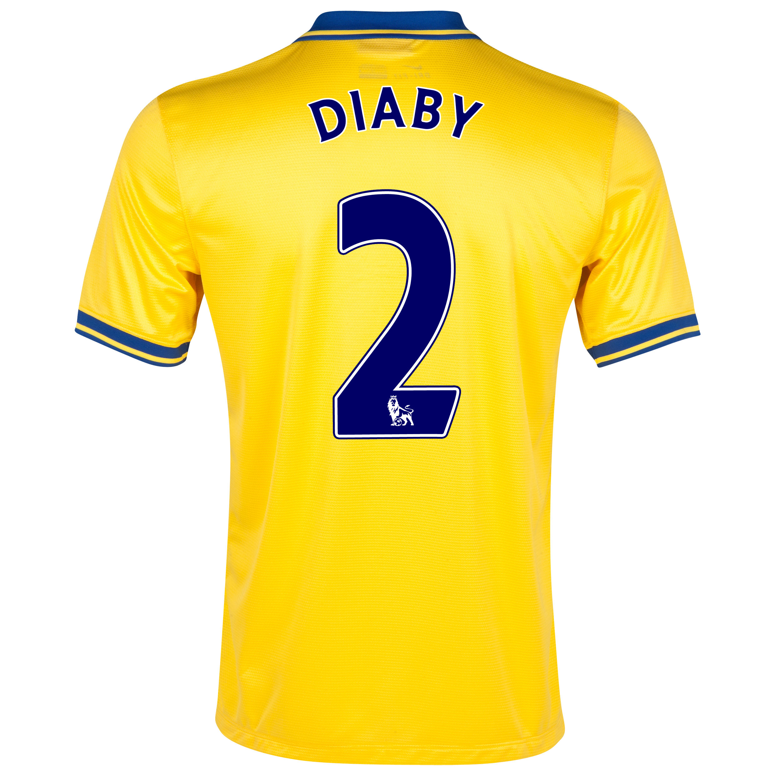 Arsenal Away Shirt 2013/14 with Diaby 2 printing