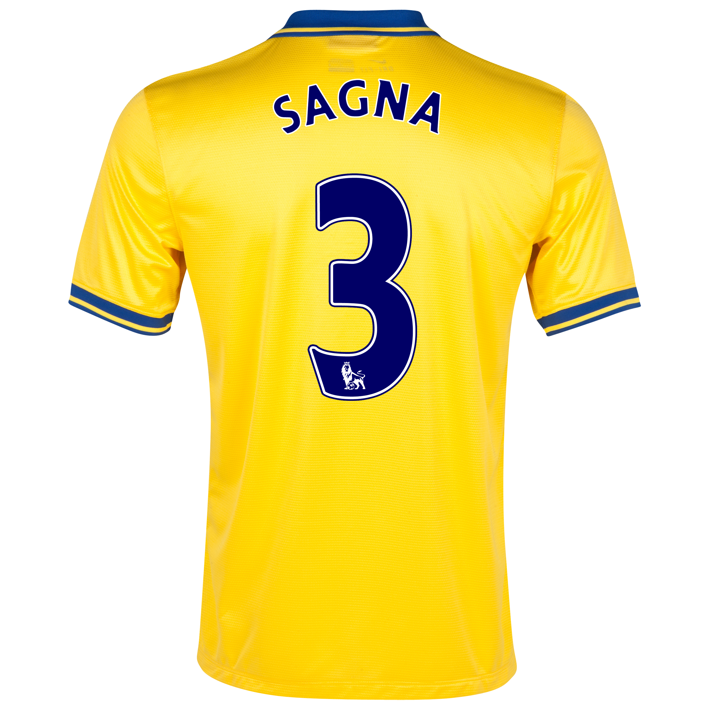 Arsenal Away Shirt 2013/14 with Sagna 3 printing