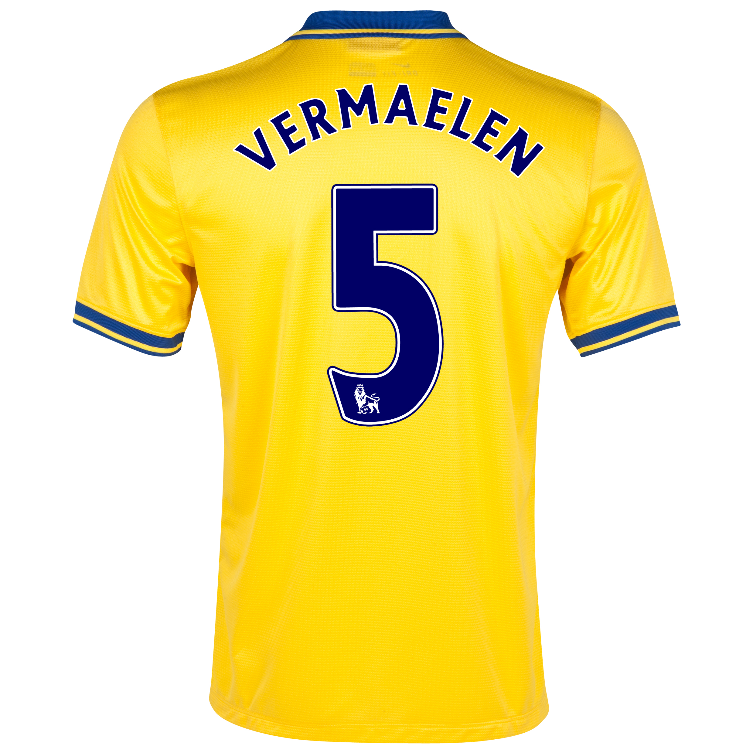Arsenal Away Shirt 2013/14 with Vermaelen 5 printing