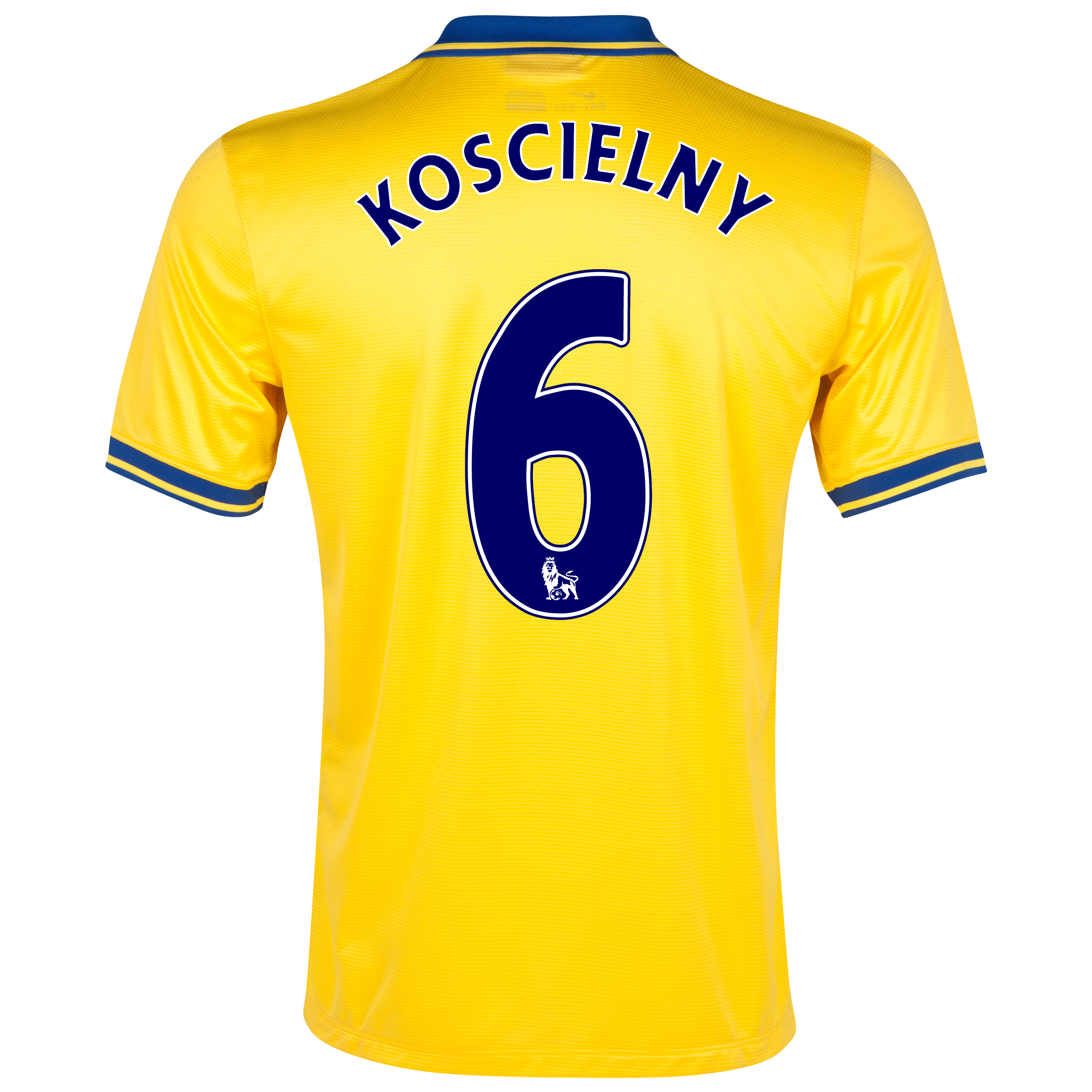 Arsenal Away Shirt 2013/14 with Koscielny 6 printing