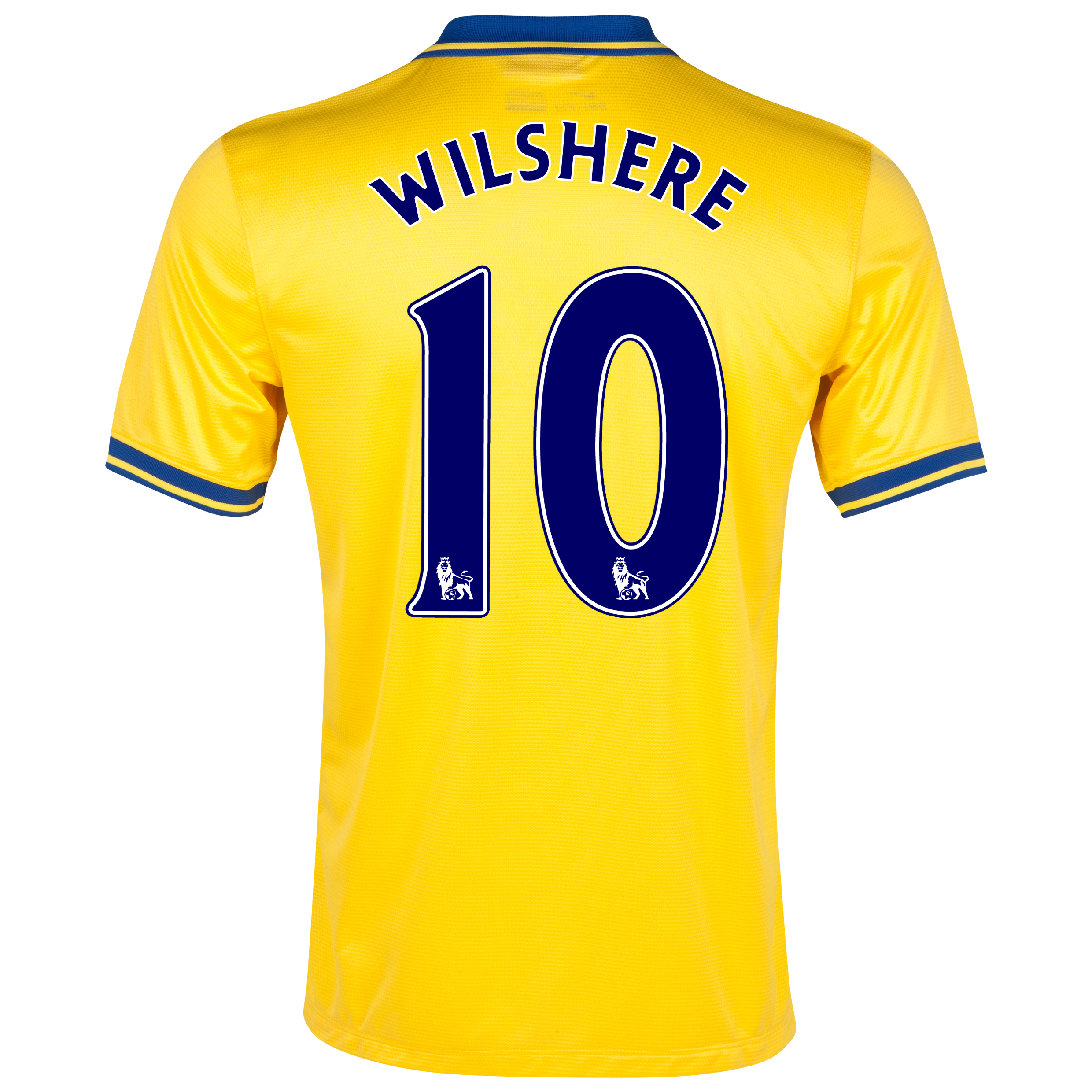Arsenal Away Shirt 2013/14 with Wilshere 10 printing
