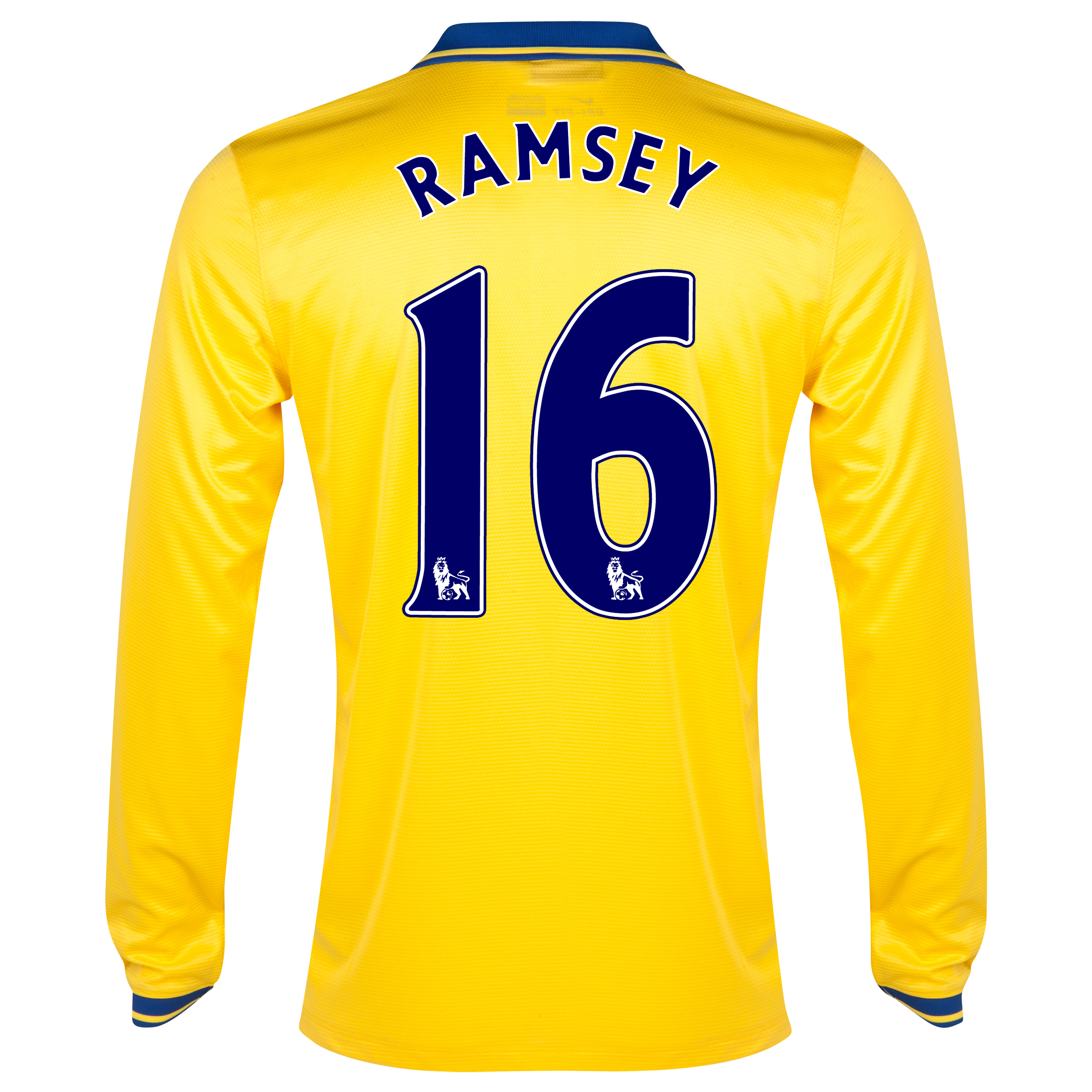Arsenal Away Shirt 2013/14 Long Sleeved with Ramsey 16 printing