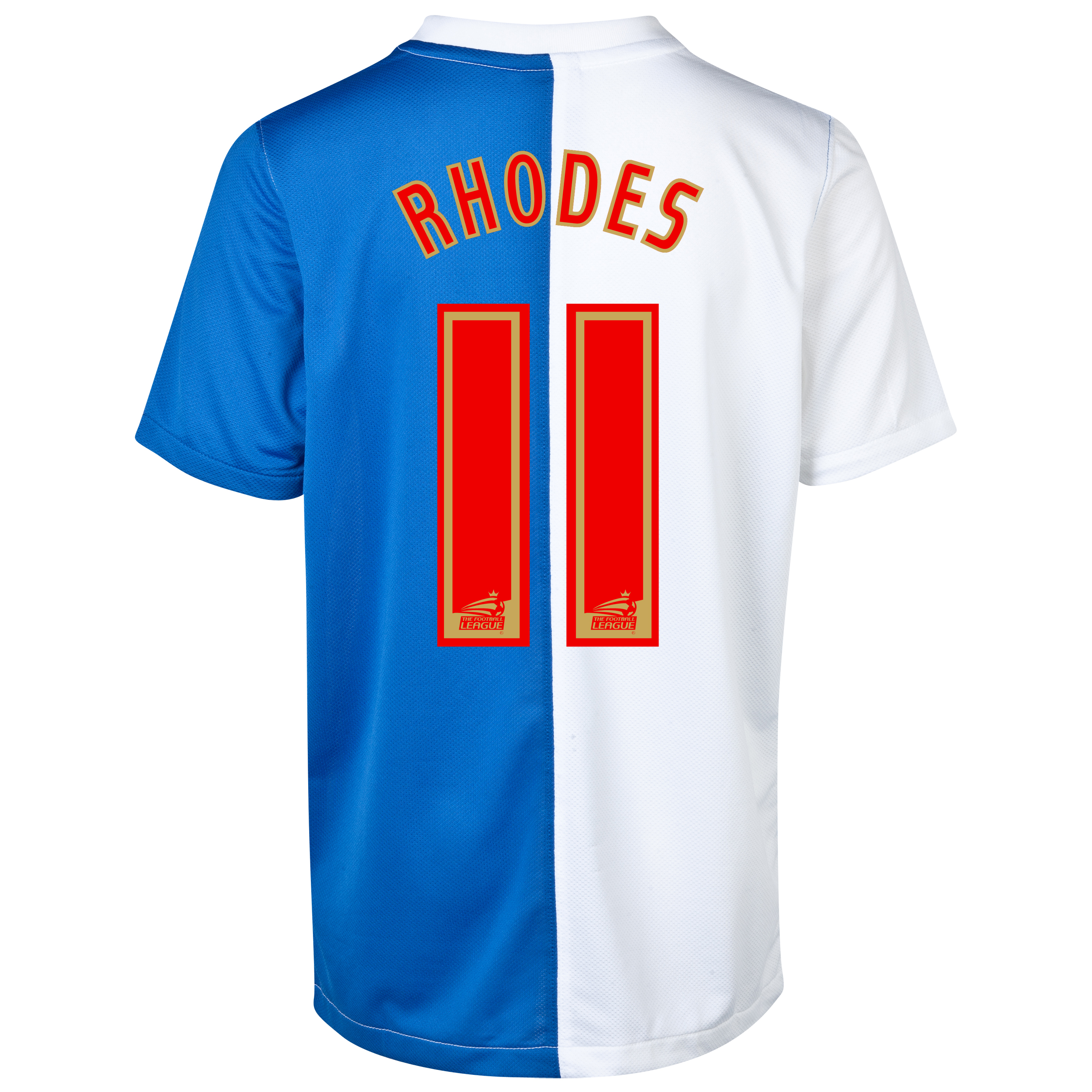 Blackburn Rovers Home Shirt 2013/14 with Rhodes 11 printing