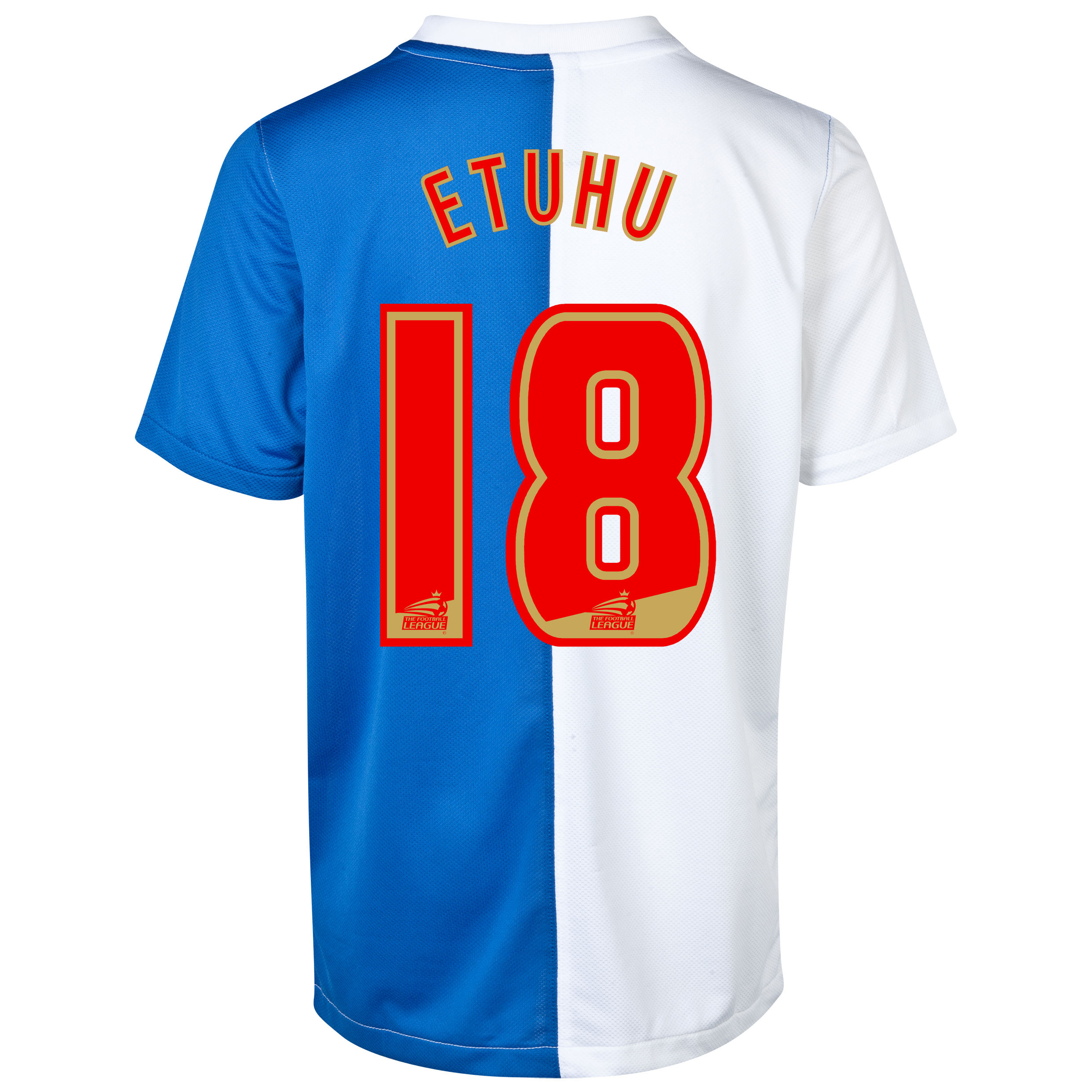 Blackburn Rovers Home Shirt 2013/14 - Kids with Etuhu 18 printing