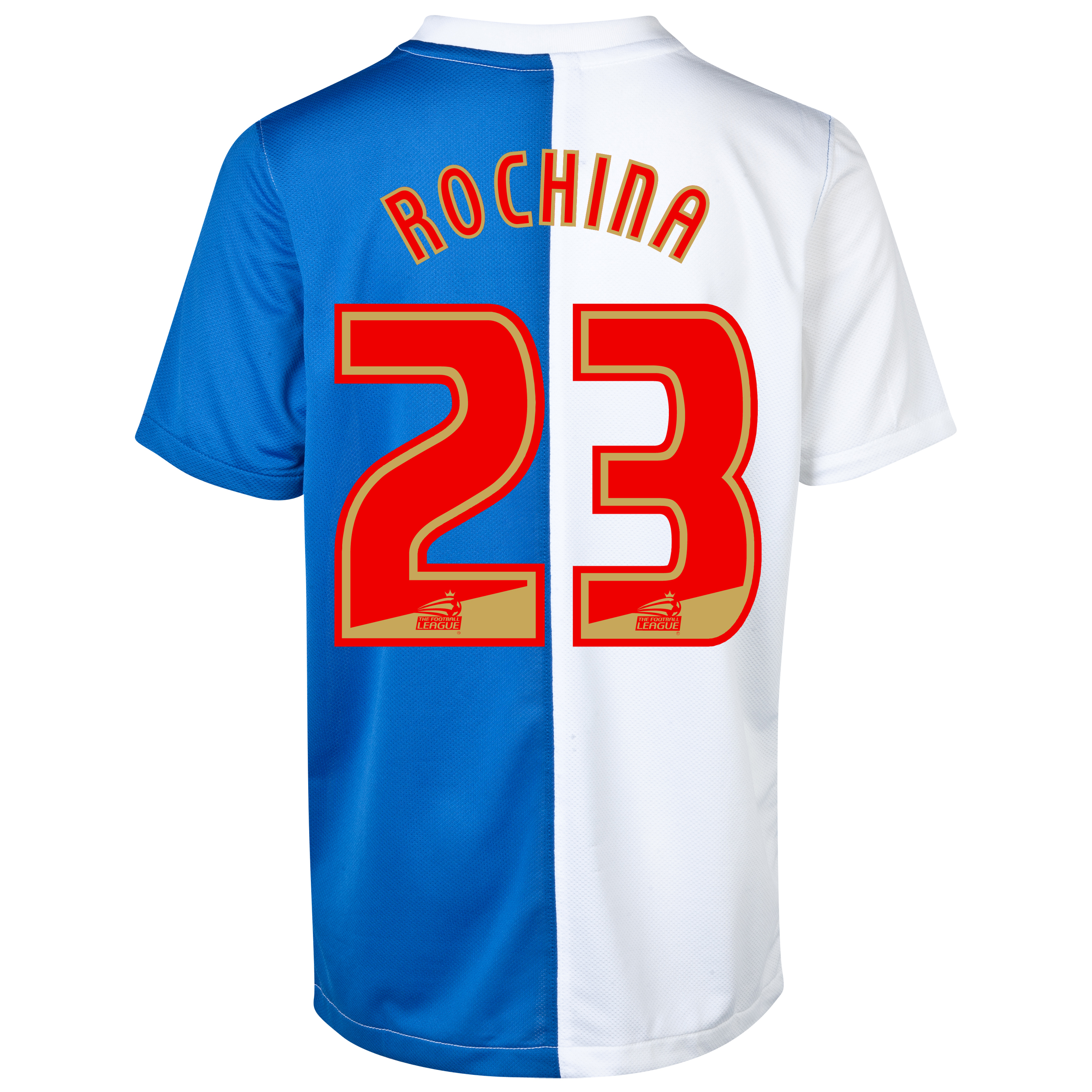 Blackburn Rovers Home Shirt 2013/14 - Kids with Rochina 23 printing