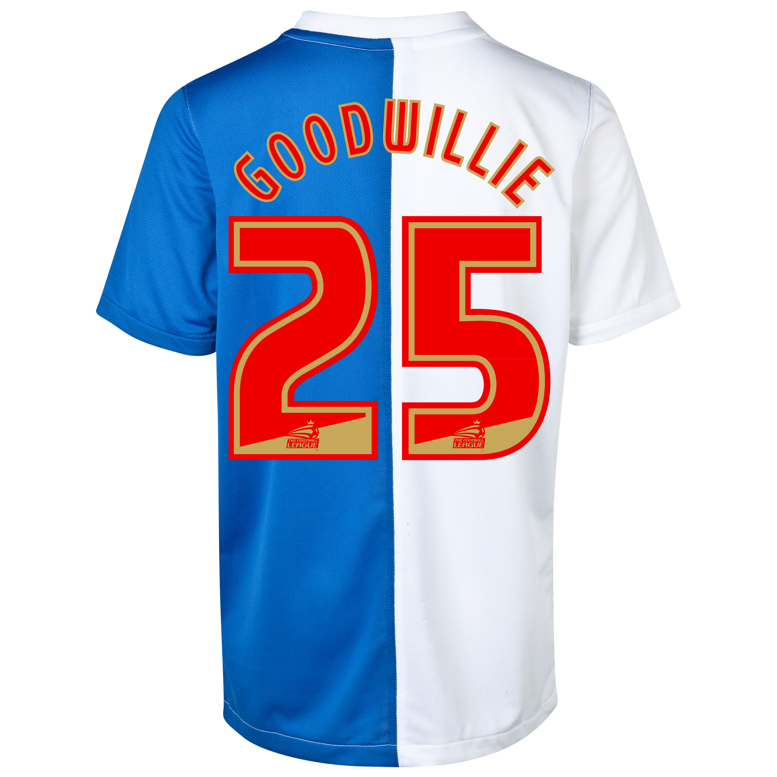 Blackburn Rovers Home Shirt 2013/14 - Kids with Goodwillie 25 printing