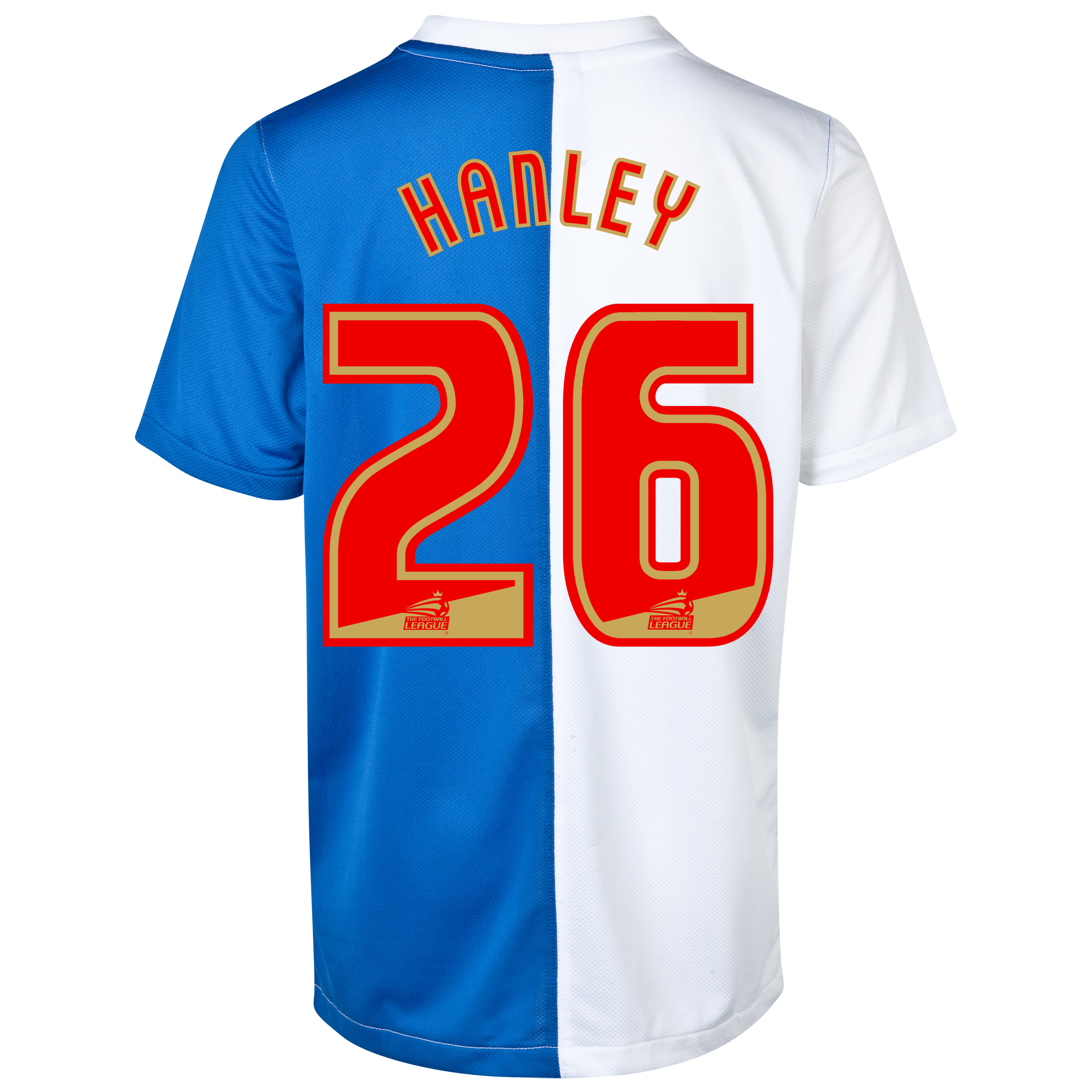 Blackburn Rovers Home Shirt 2013/14 - Kids with Hanley 26 printing