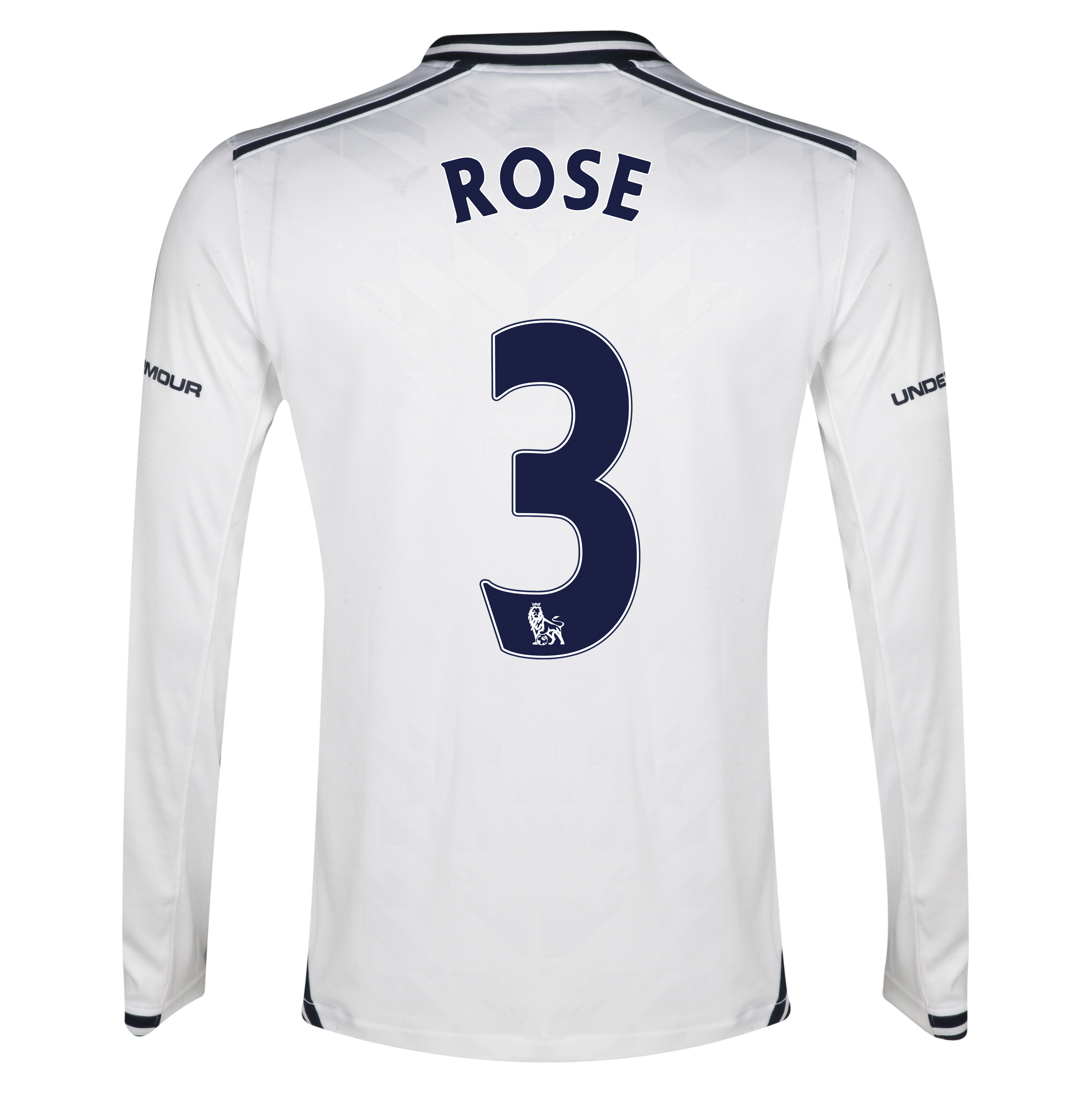 Tottenham Hotspur Home Shirt 2013/14 - Long Sleeve with Rose 3 printing
