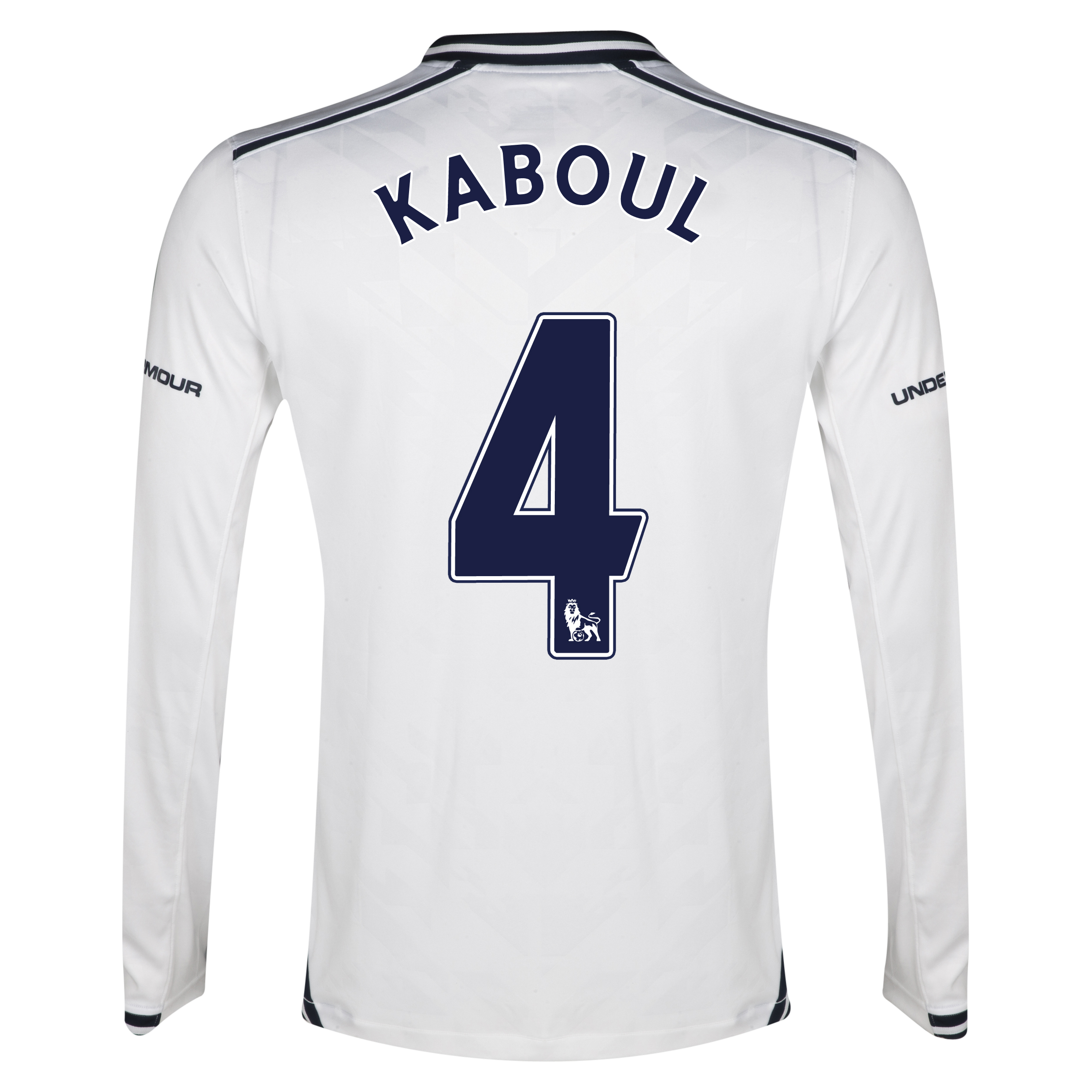 Tottenham Hotspur Home Shirt 2013/14 - Long Sleeve with Kaboul 4 printing