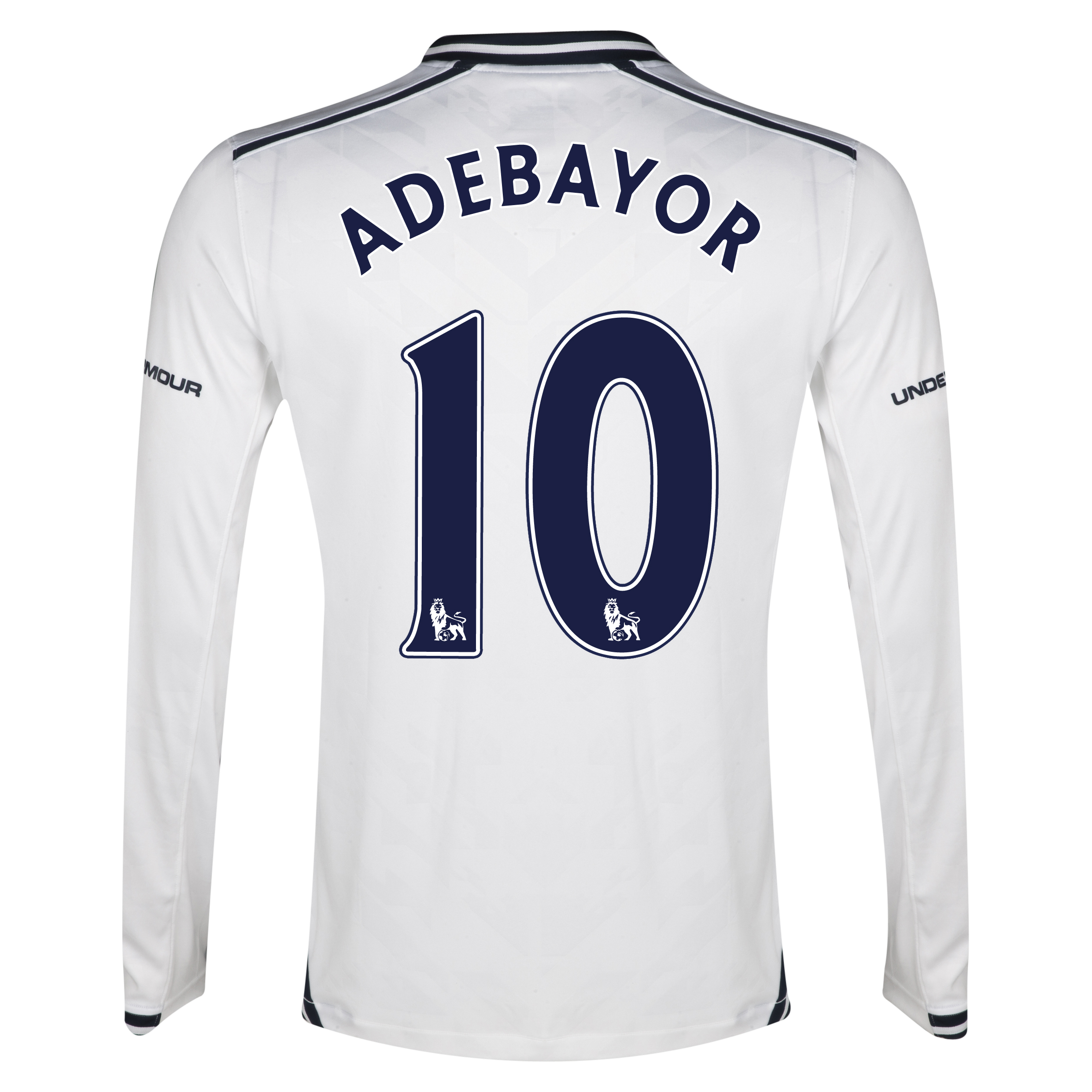 Tottenham Hotspur Home Shirt 2013/14 - Long Sleeve with Adebayor 10 printing