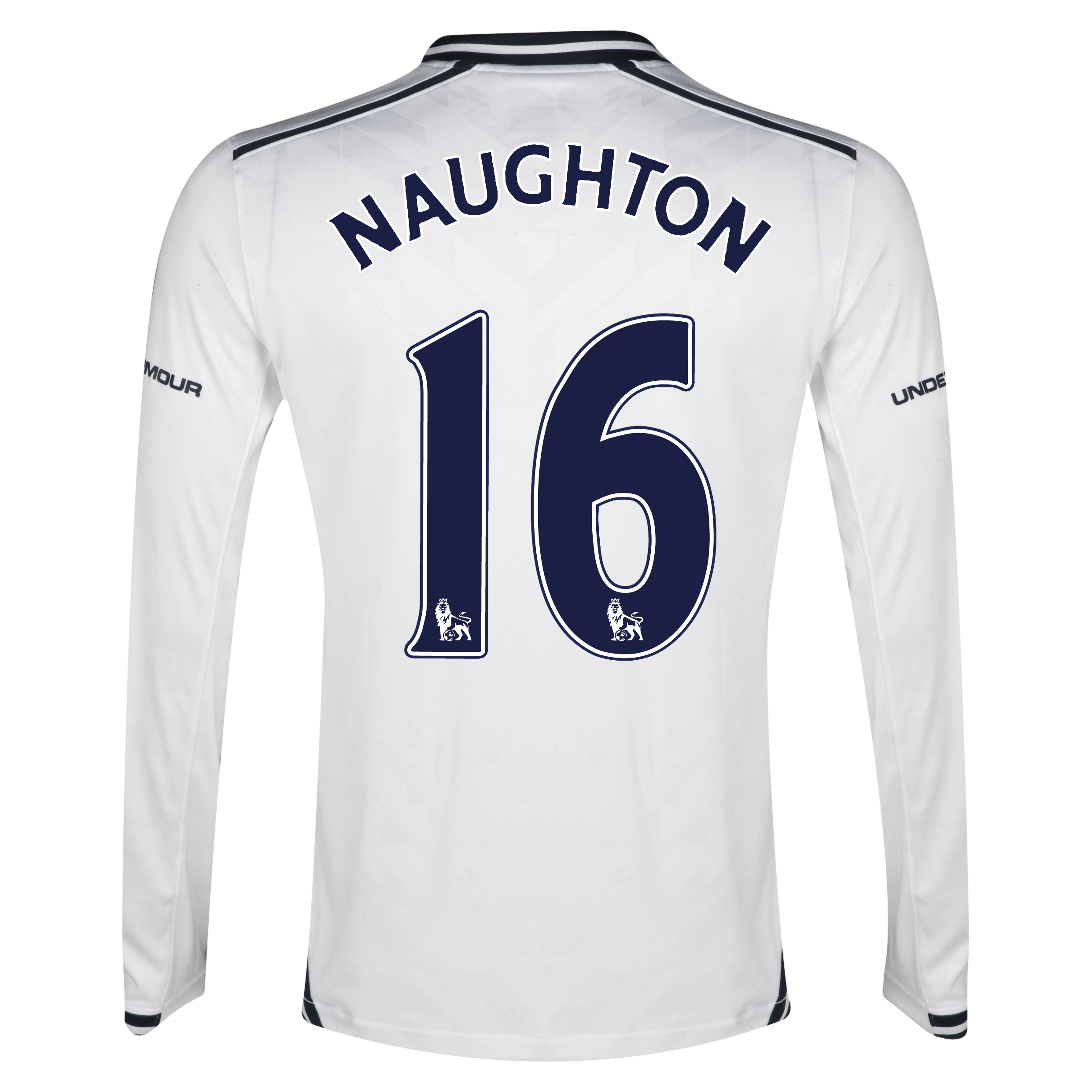 Tottenham Hotspur Home Shirt 2013/14 - Long Sleeve with Naughton 16 printing