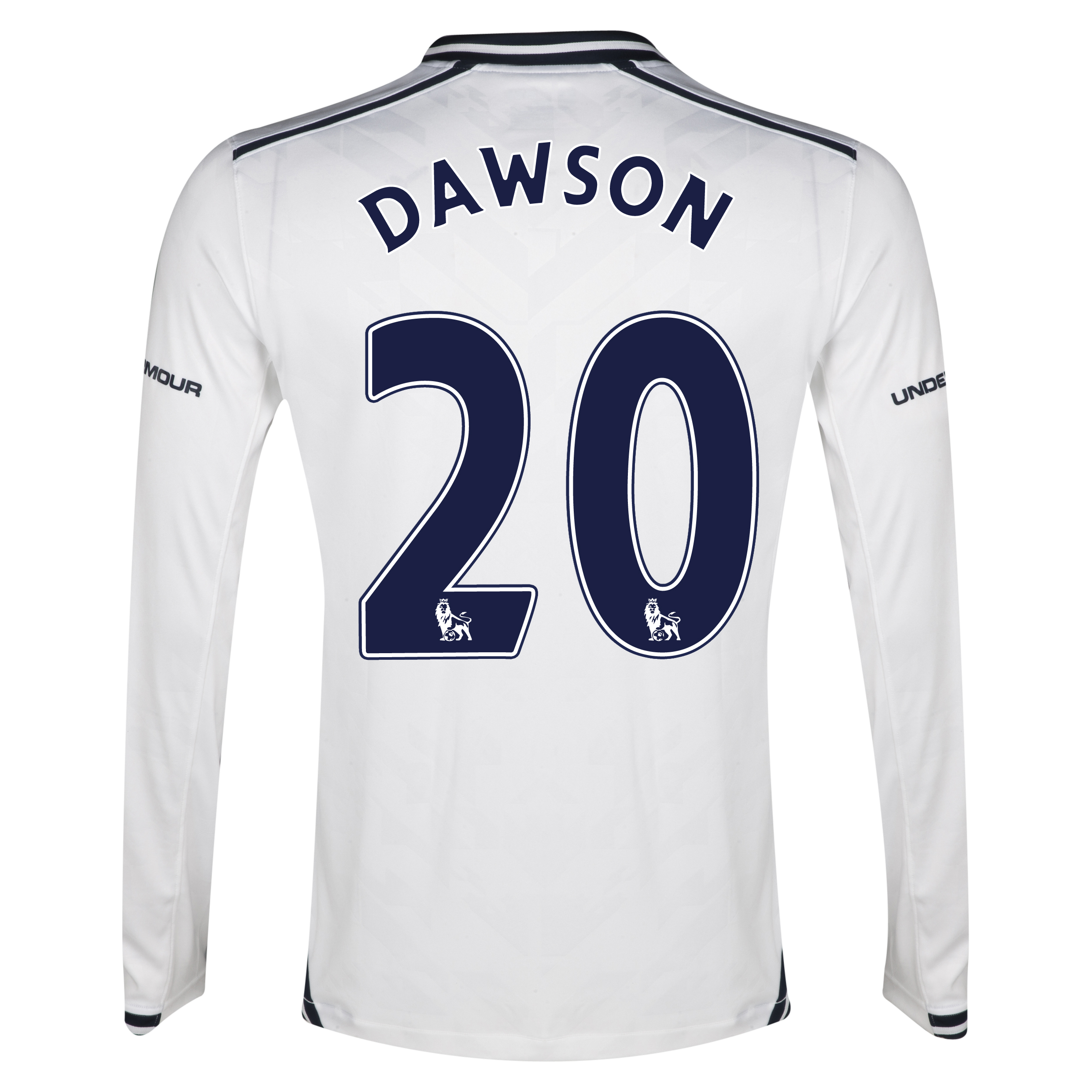 Tottenham Hotspur Home Shirt 2013/14 - Long Sleeve with Dawson 20 printing