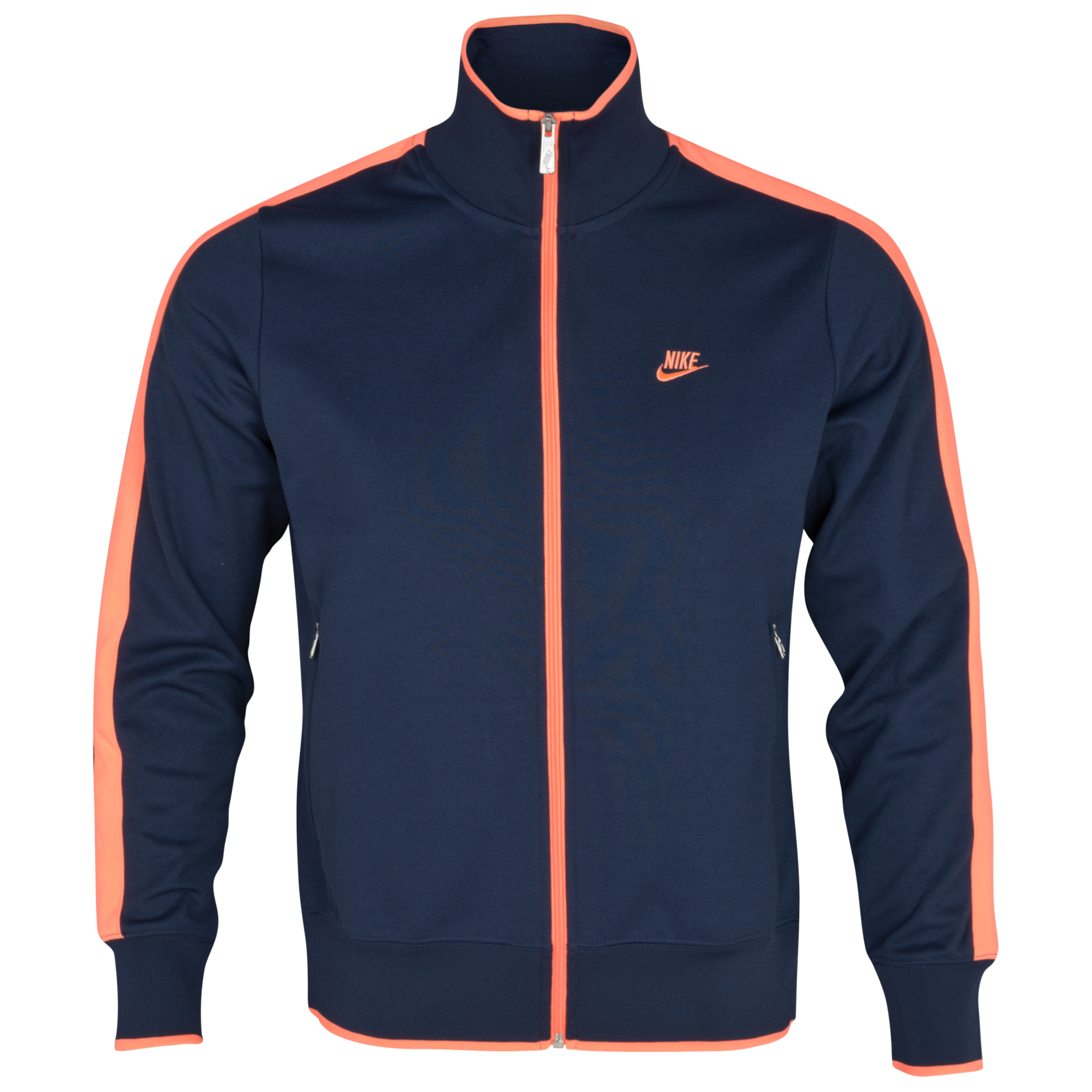 Nike National N98 Jacket - Midnight Navy/Bright Mango