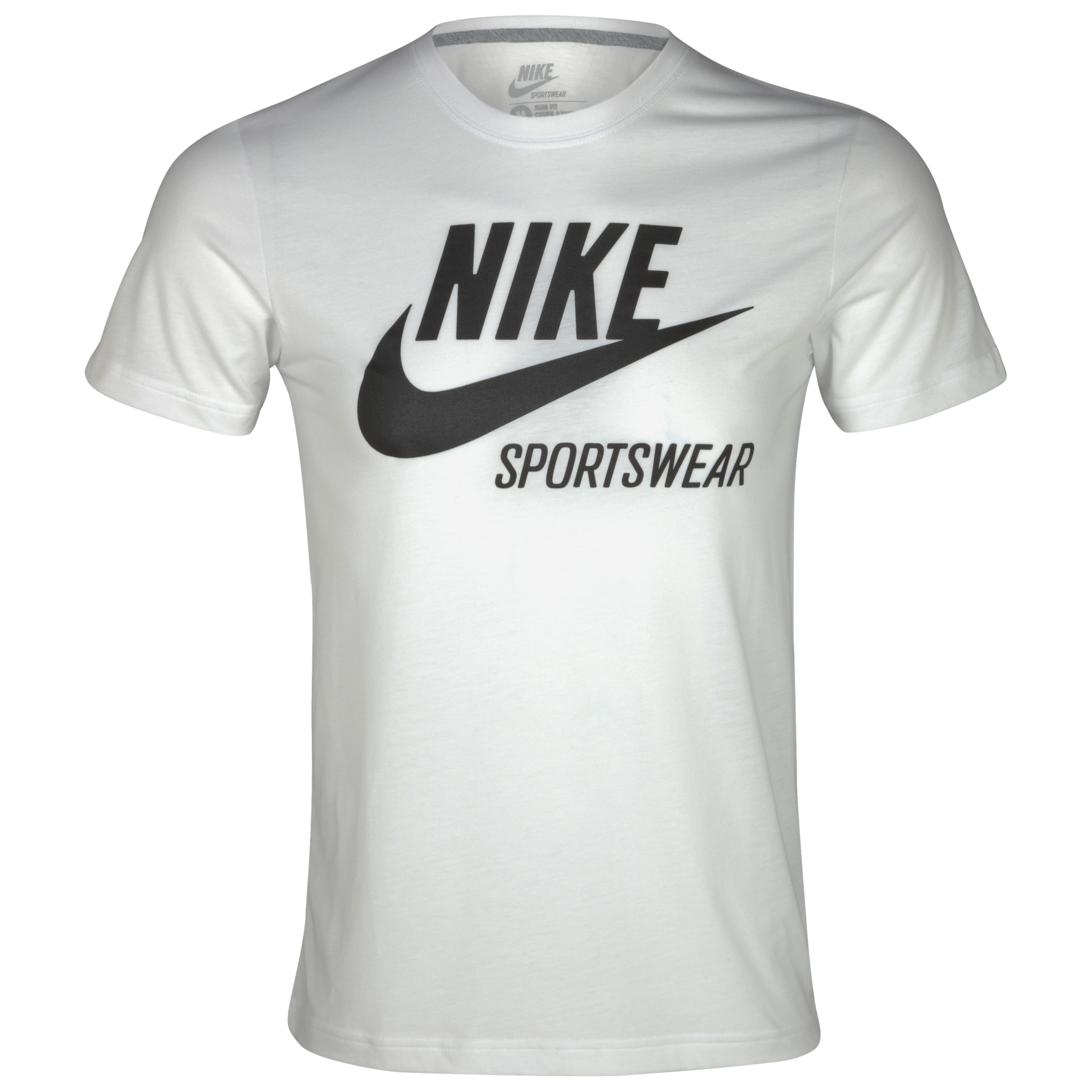 Nike Futura Crackle T-Shirt - White/Black