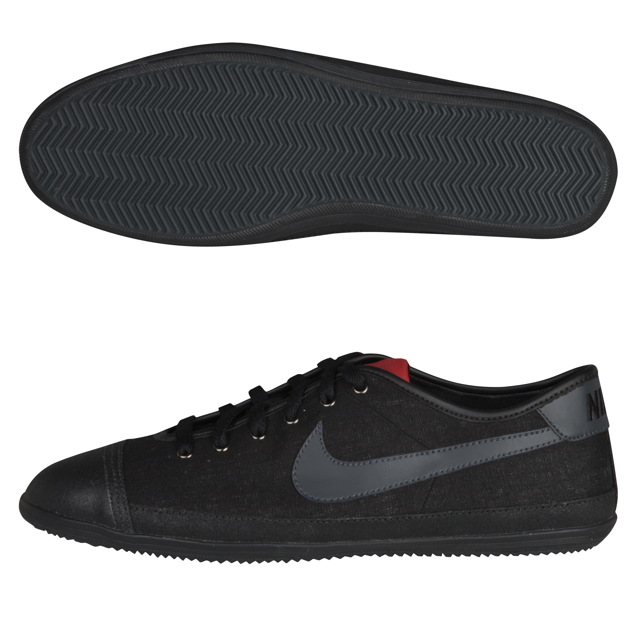 Nike Flash Textile Trainers - Black/Anthracite/Gym Red
