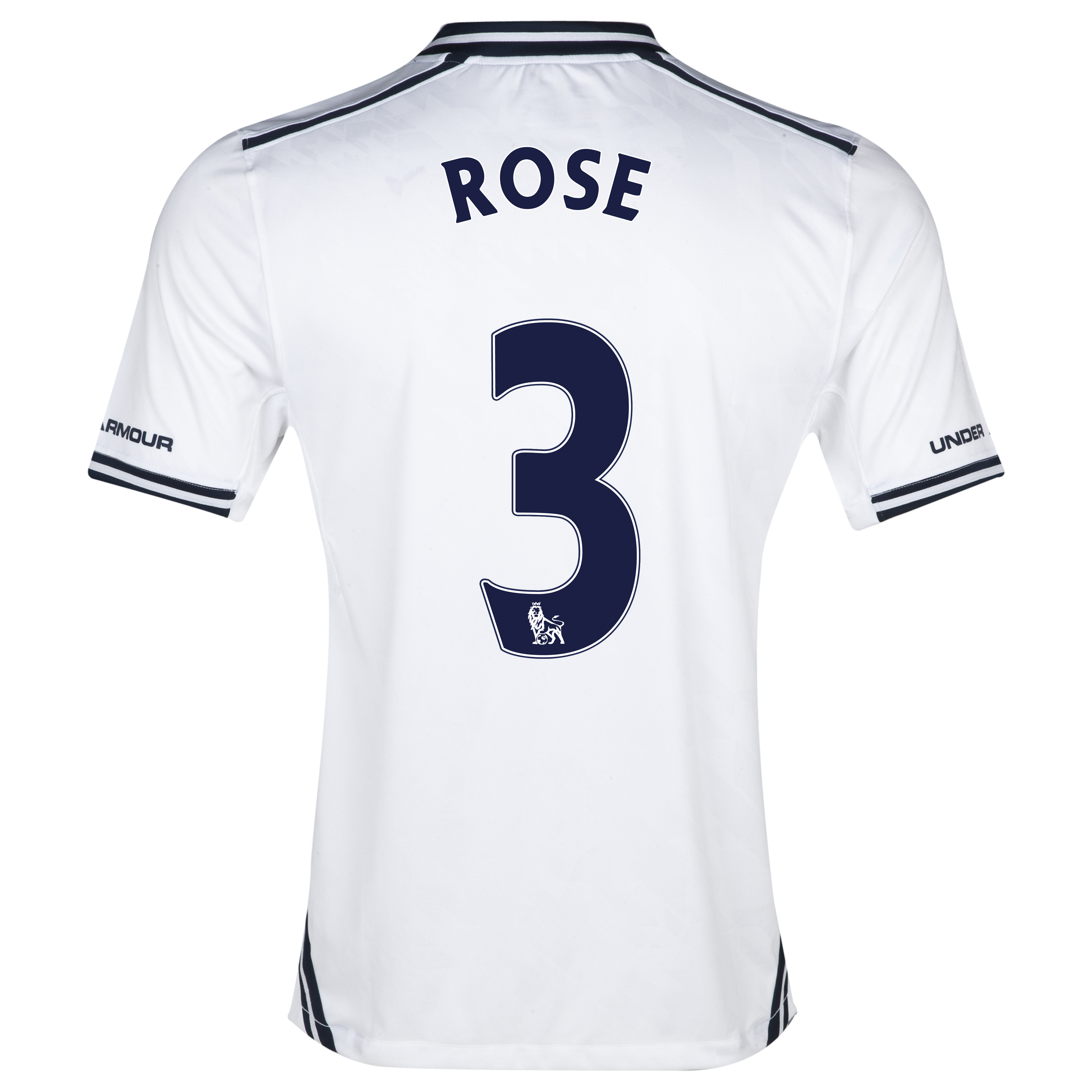 Tottenham Hotspur Home Shirt 2013/14 with Rose 3 printing