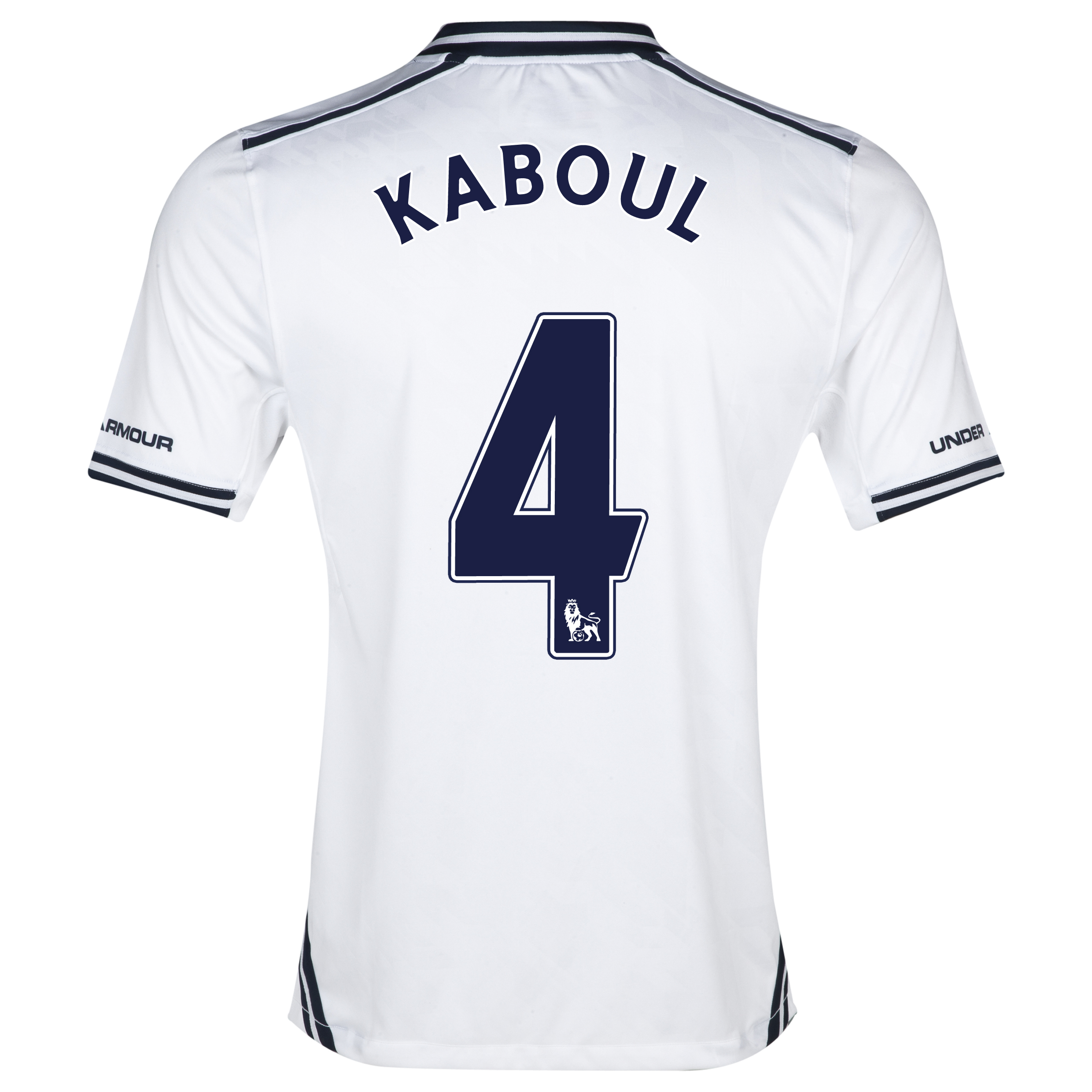 Tottenham Hotspur Home Shirt 2013/14 with Kaboul 4 printing