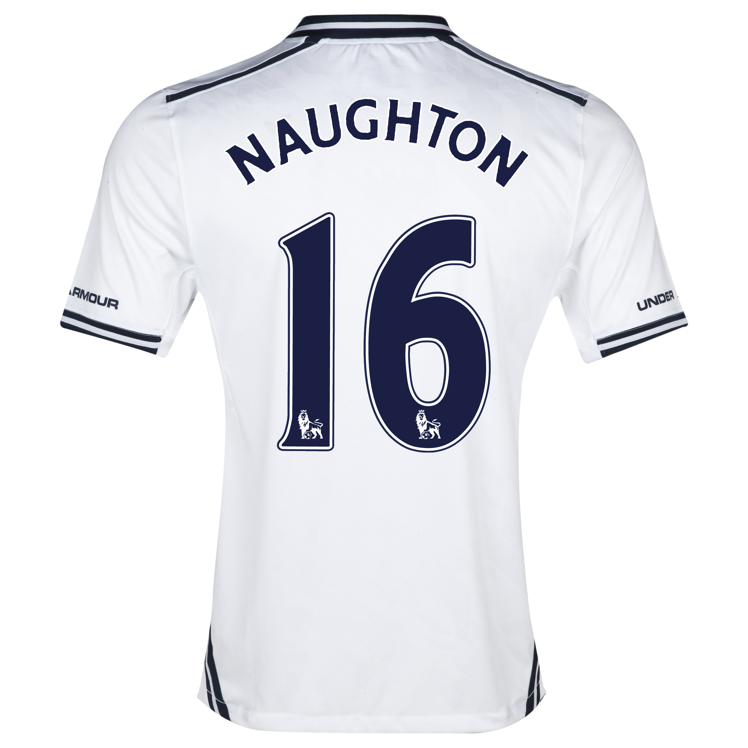 Tottenham Hotspur Home Shirt 2013/14 with Naughton 16 printing