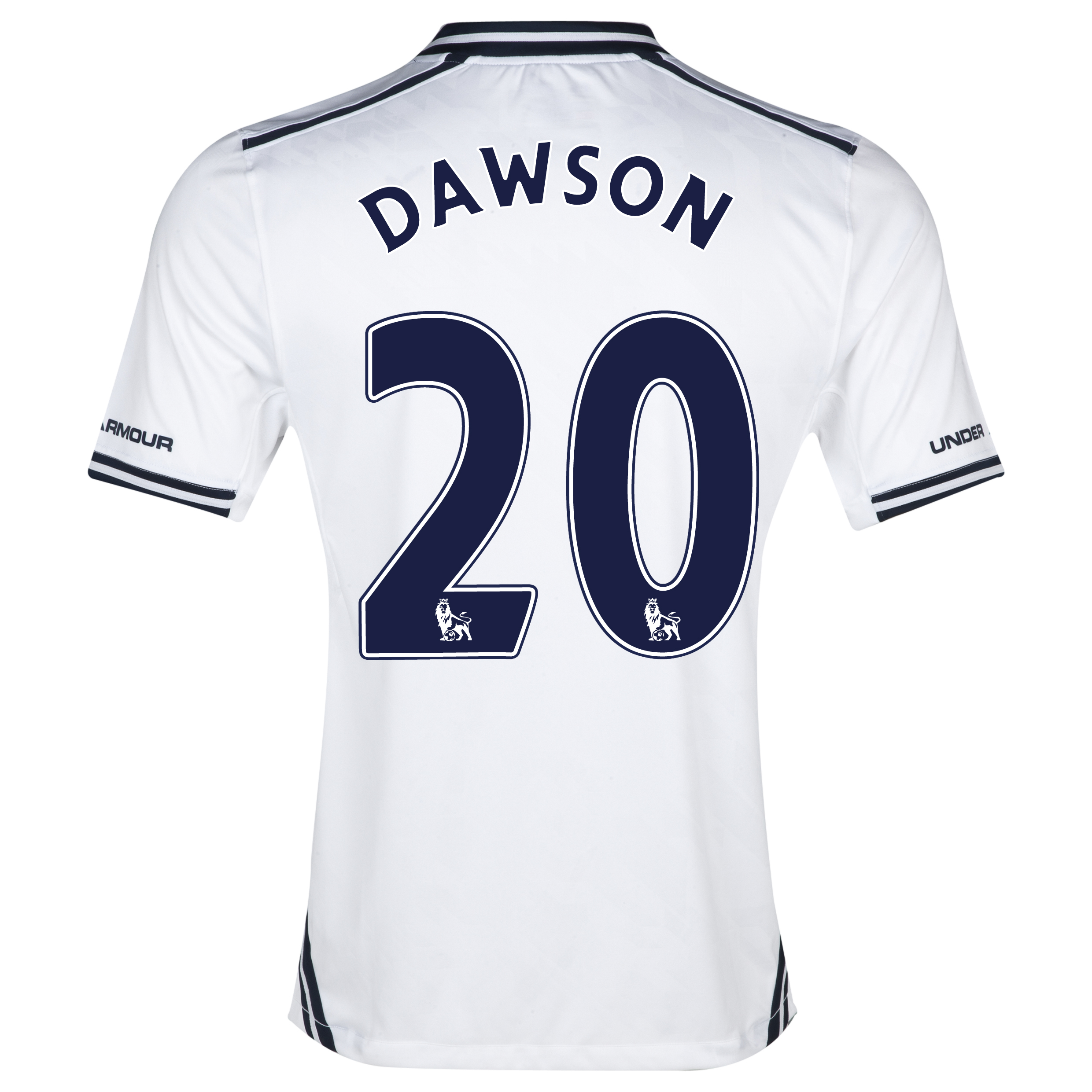Tottenham Hotspur Home Shirt 2013/14 with Dawson 20 printing