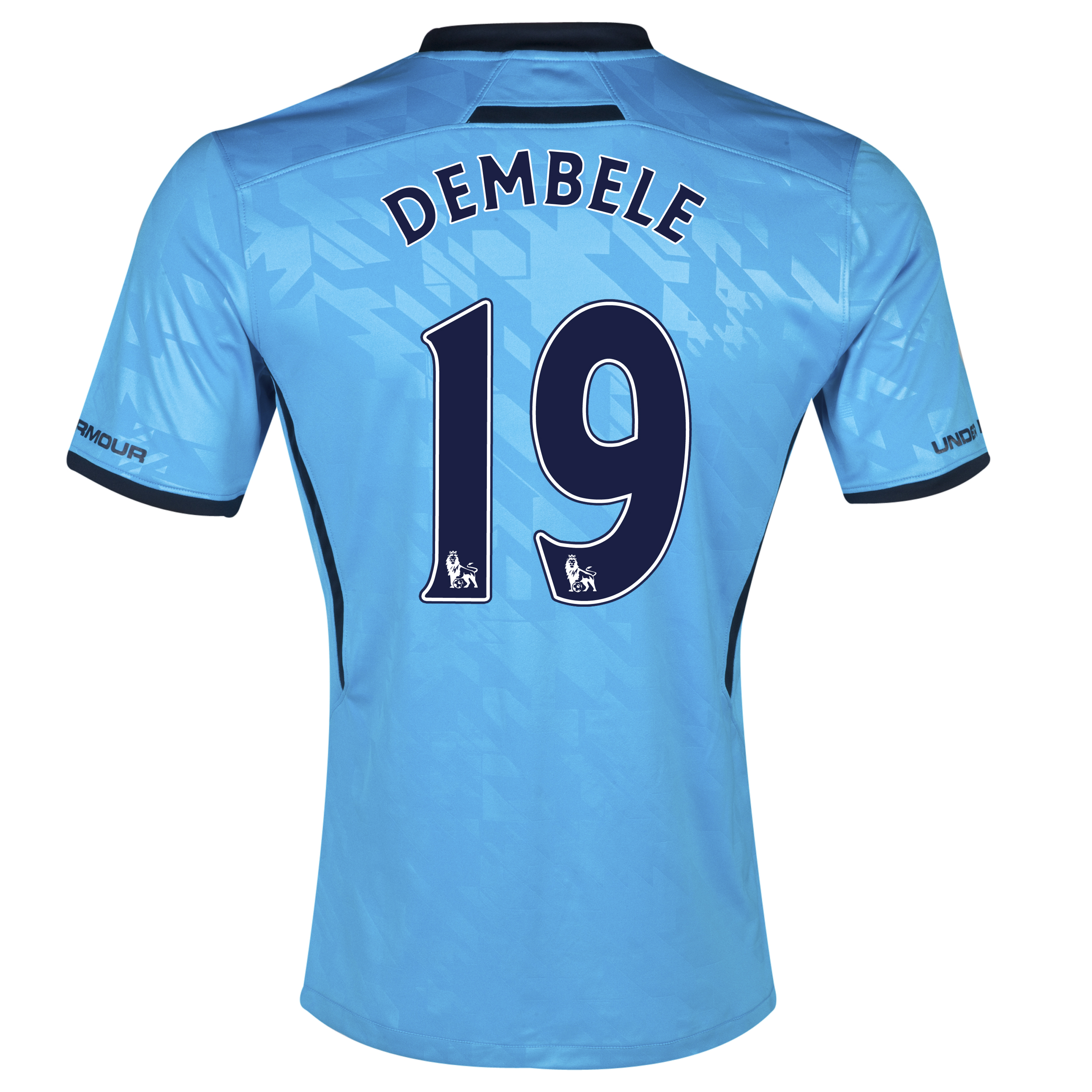 Tottenham Hotspur Away Shirt 2013/14 with Dembele 19 printing