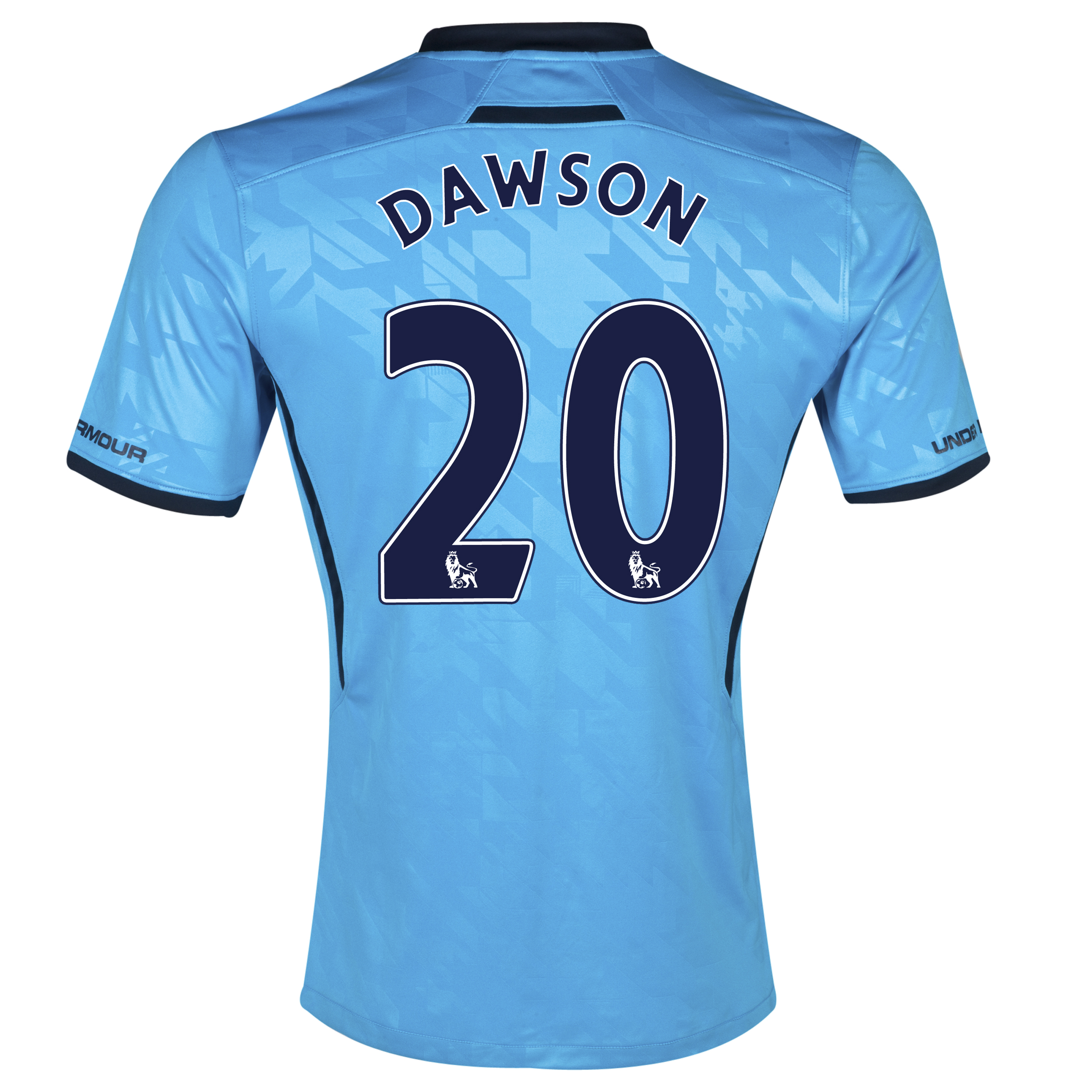 Tottenham Hotspur Away Shirt 2013/14 with Dawson 20 printing