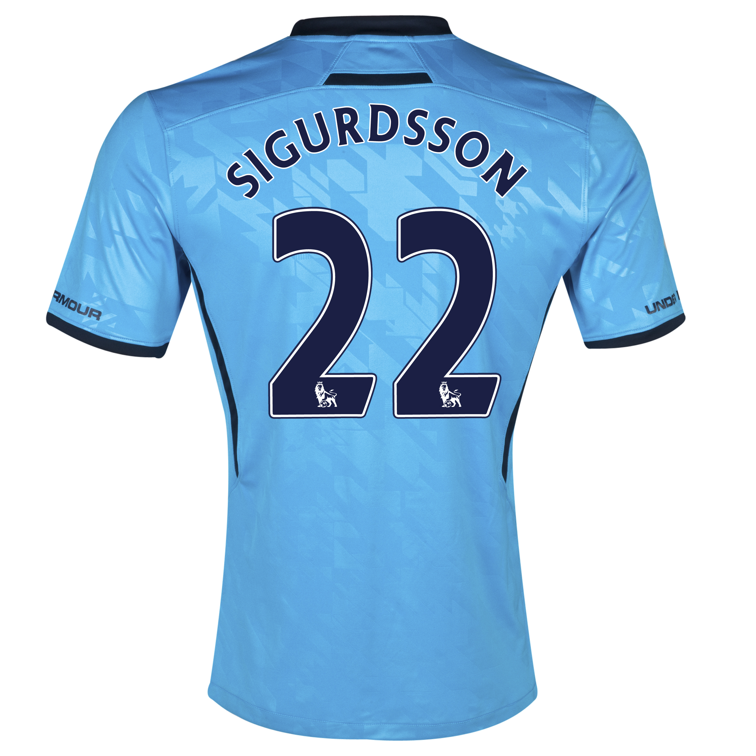 Tottenham Hotspur Away Shirt 2013/14 with Sigurdsson 22 printing