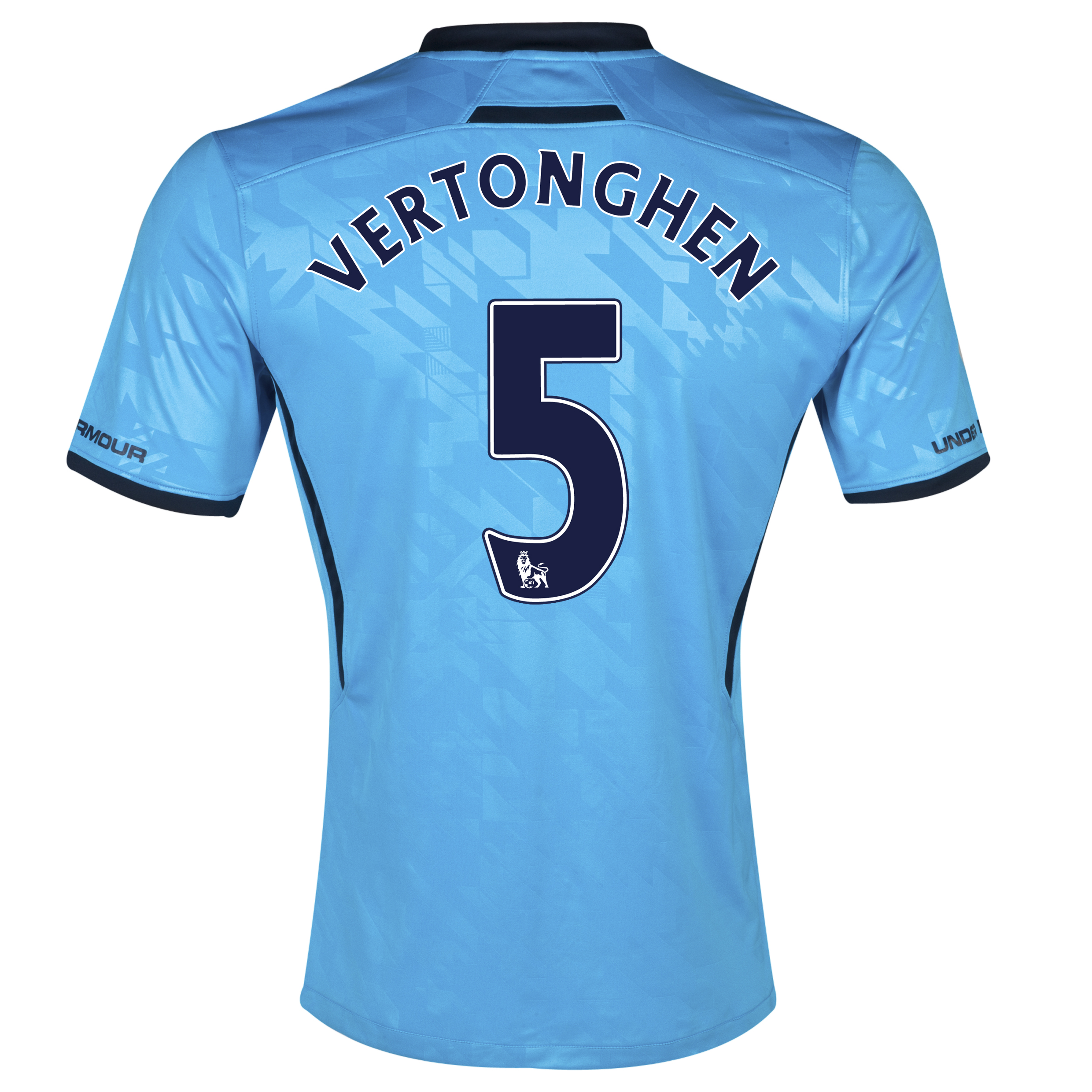 Tottenham Hotspur Away Shirt 2013/14 - Womens with Vertonghen 5 printing